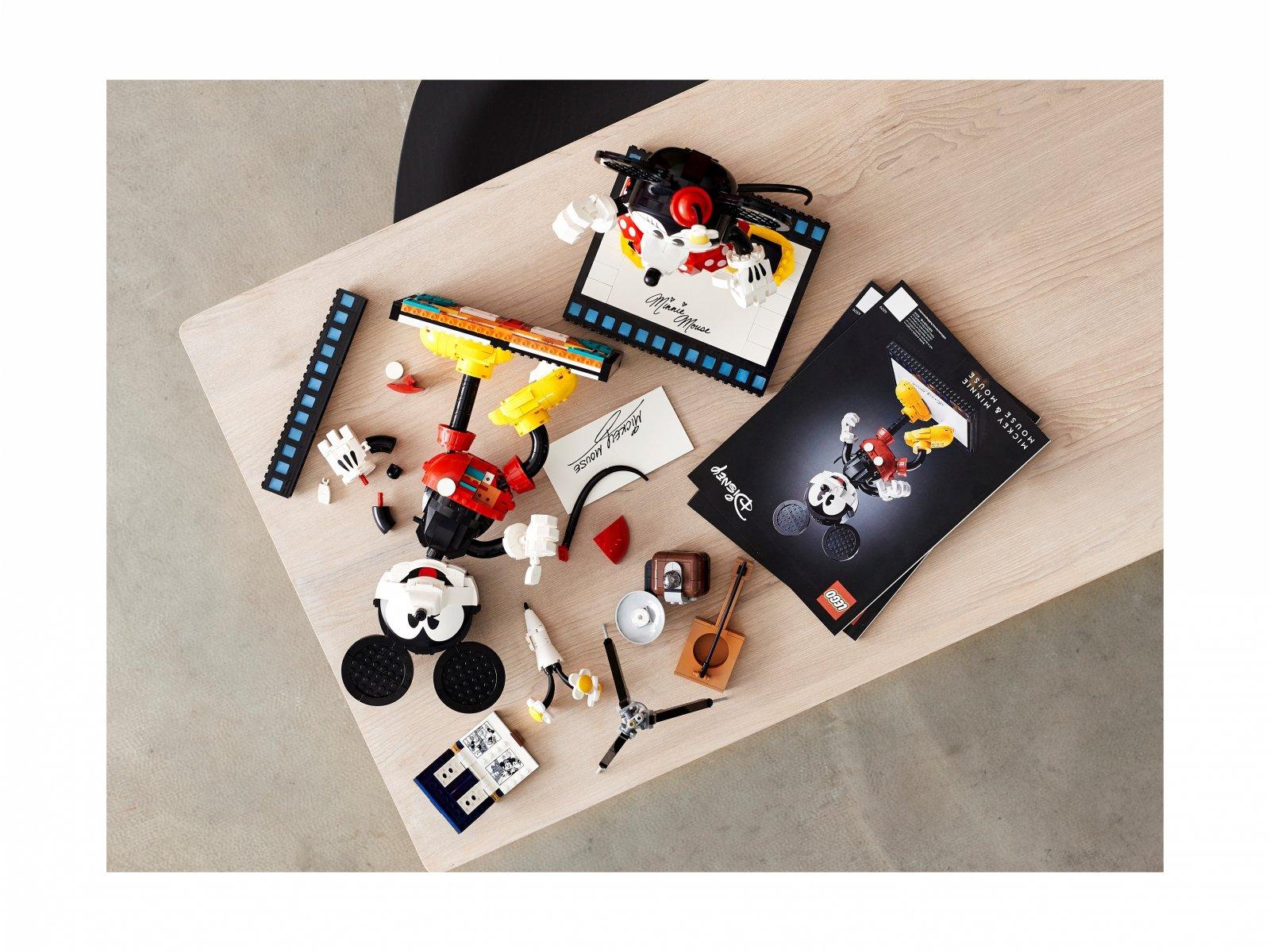 LEGO Disney™ Myszka Miki i Myszka Minnie do zbudowania 43179