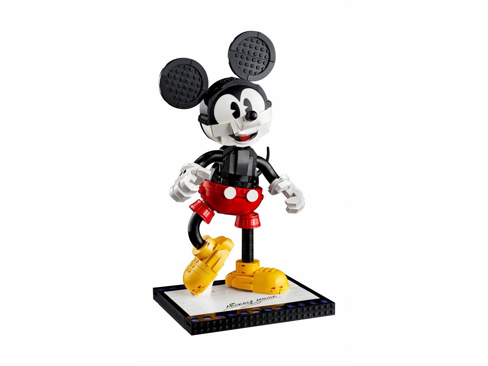 LEGO Disney™ 43179 Myszka Miki i Myszka Minnie do zbudowania