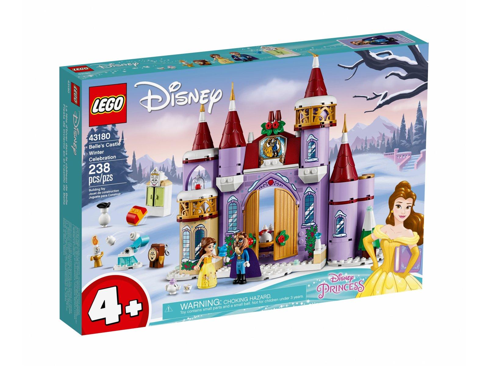 LEGO 43180 Disney™ Zimowe święto w zamku Belli