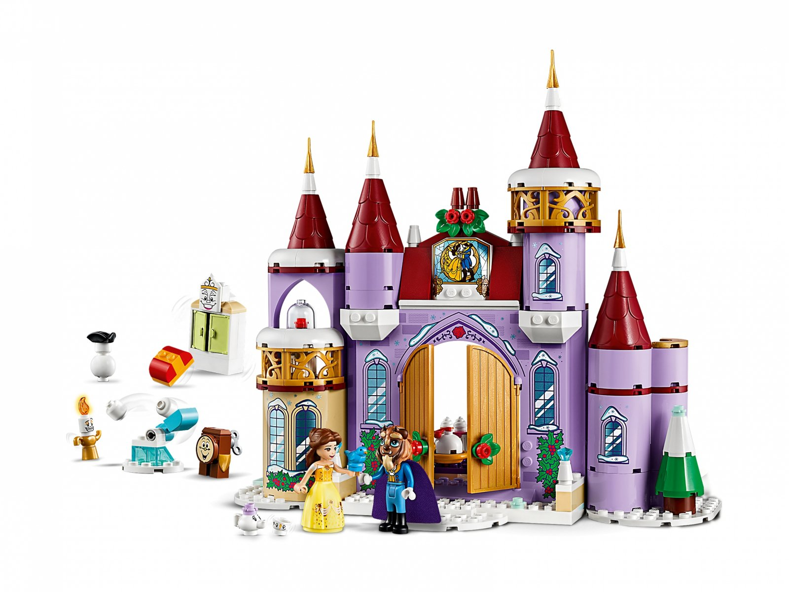 LEGO 43180 Zimowe święto w zamku Belli