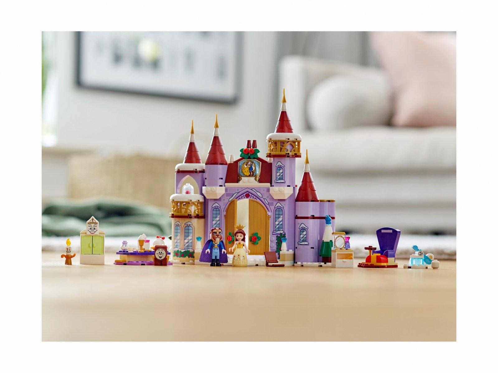 LEGO Disney™ 43180 Zimowe święto w zamku Belli