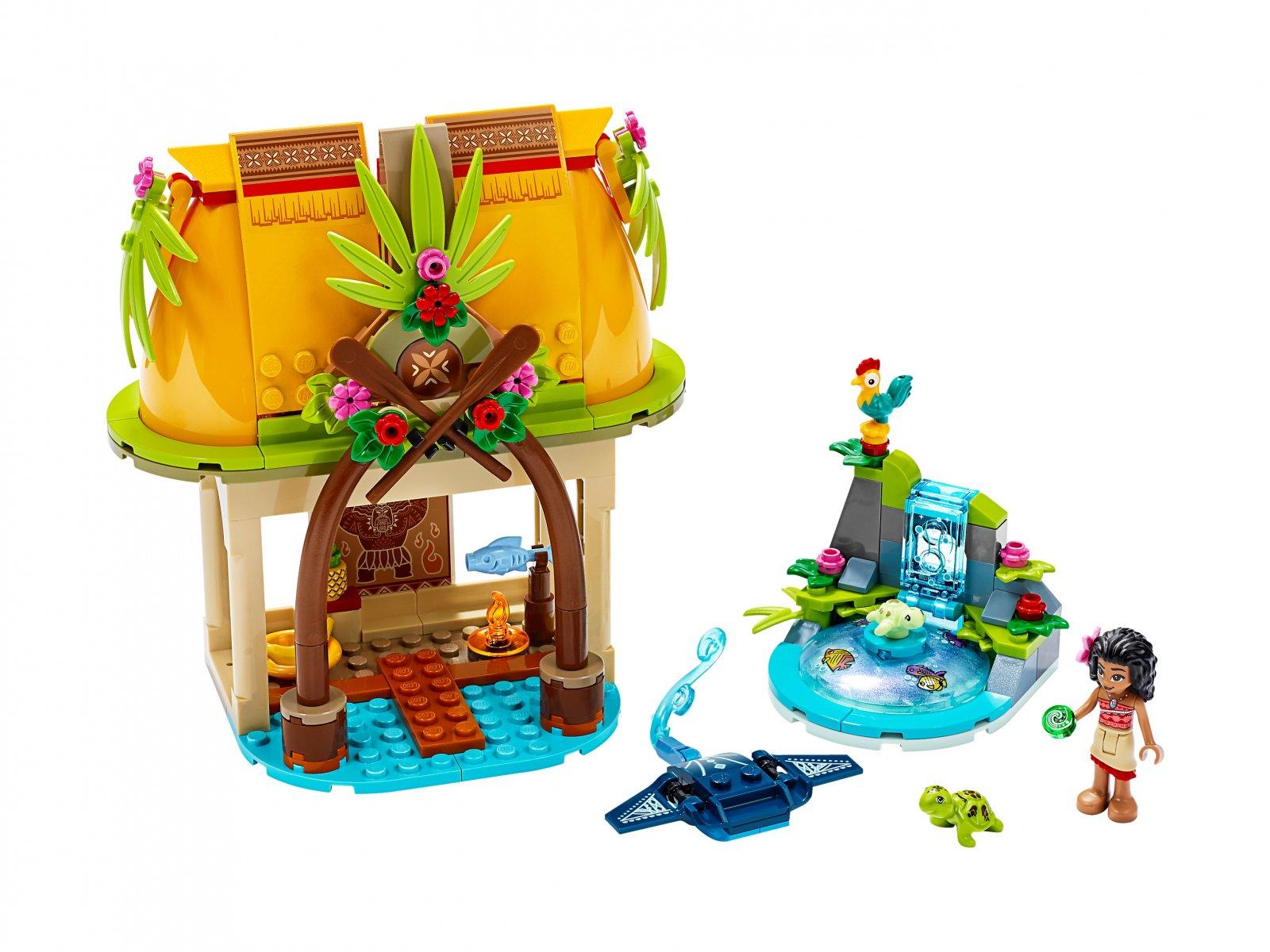 LEGO Disney™ 43183 Dom Vaiany na wyspie