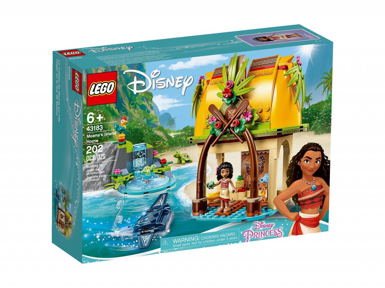 LEGO Disney™ Dom Vaiany na wyspie 43183