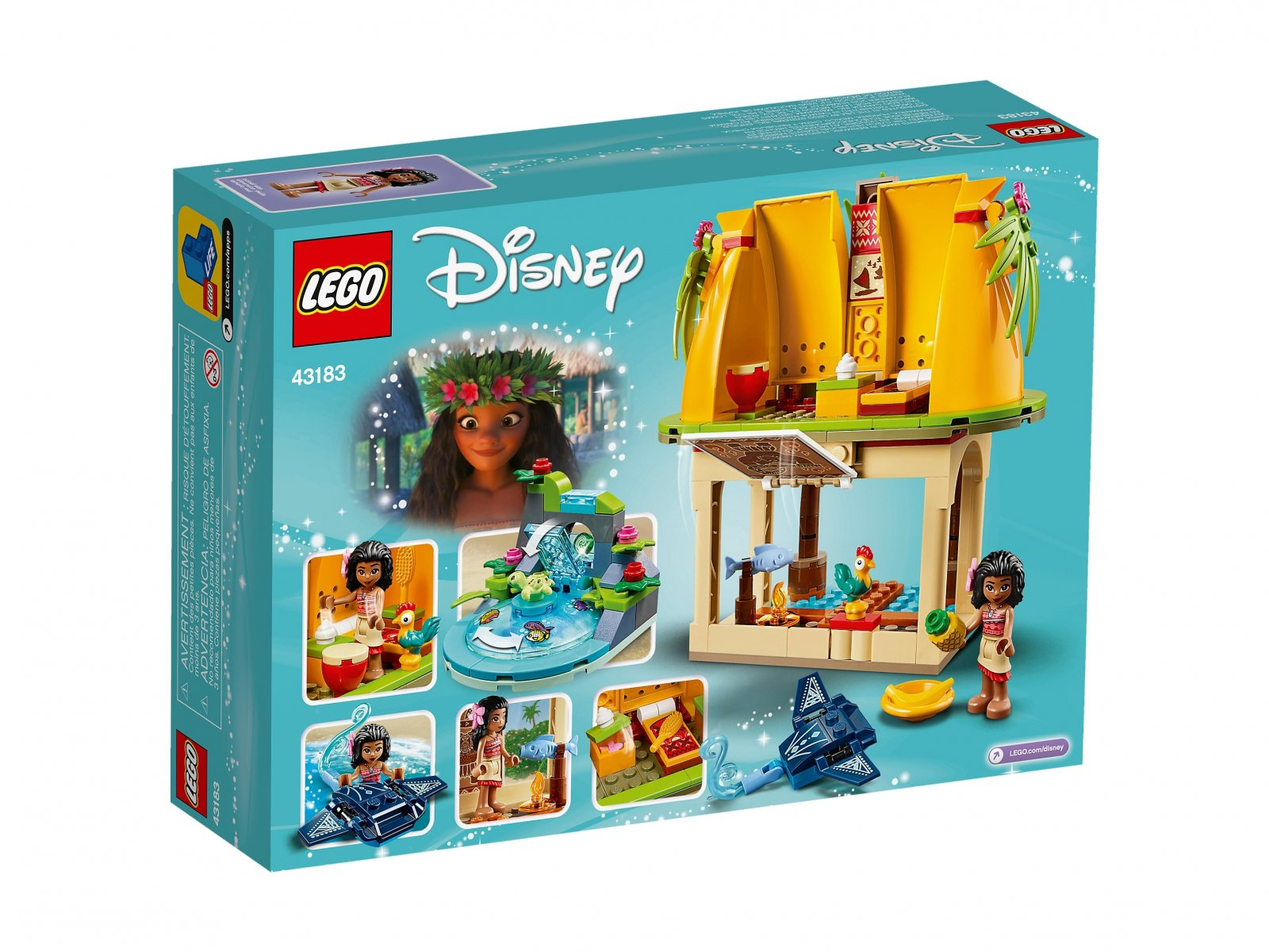 LEGO 43183 Dom Vaiany na wyspie