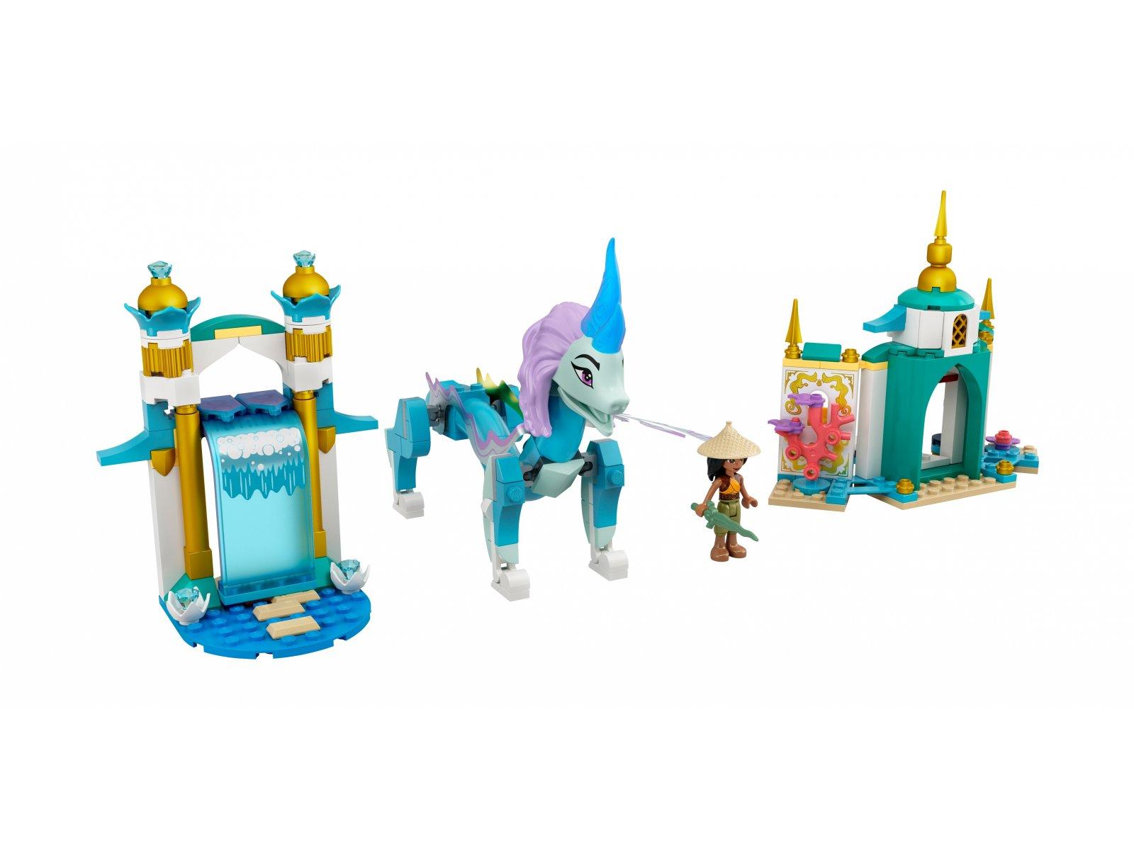LEGO Disney Raya i smok Sisu 43184