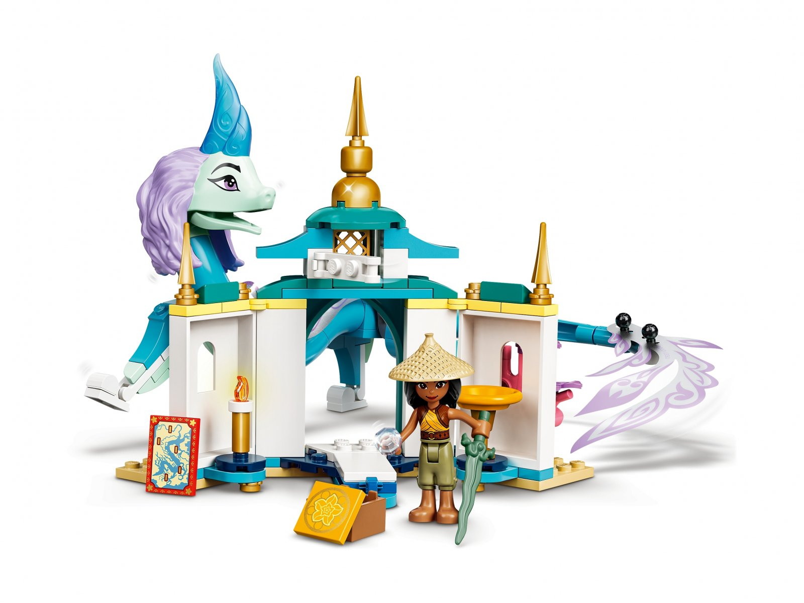 LEGO 43184 Disney Raya i smok Sisu