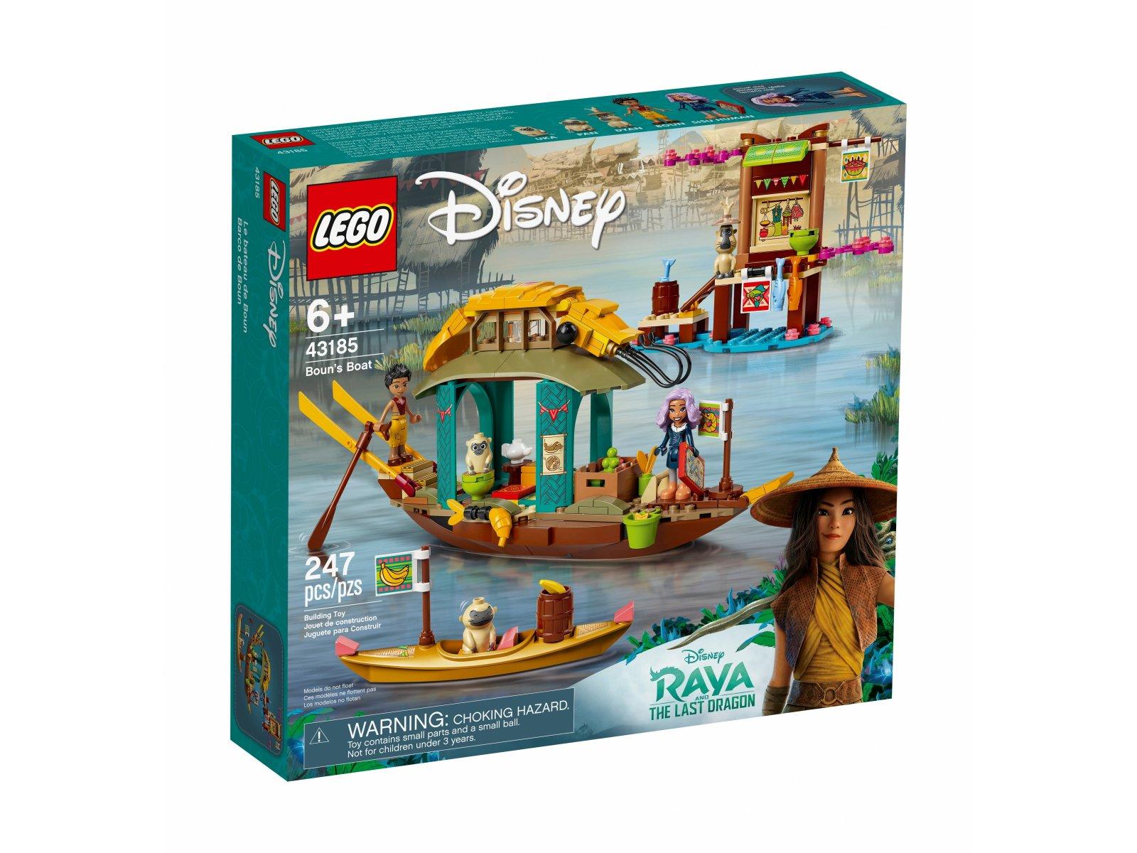 LEGO 43185 Disney Łódź Bouna