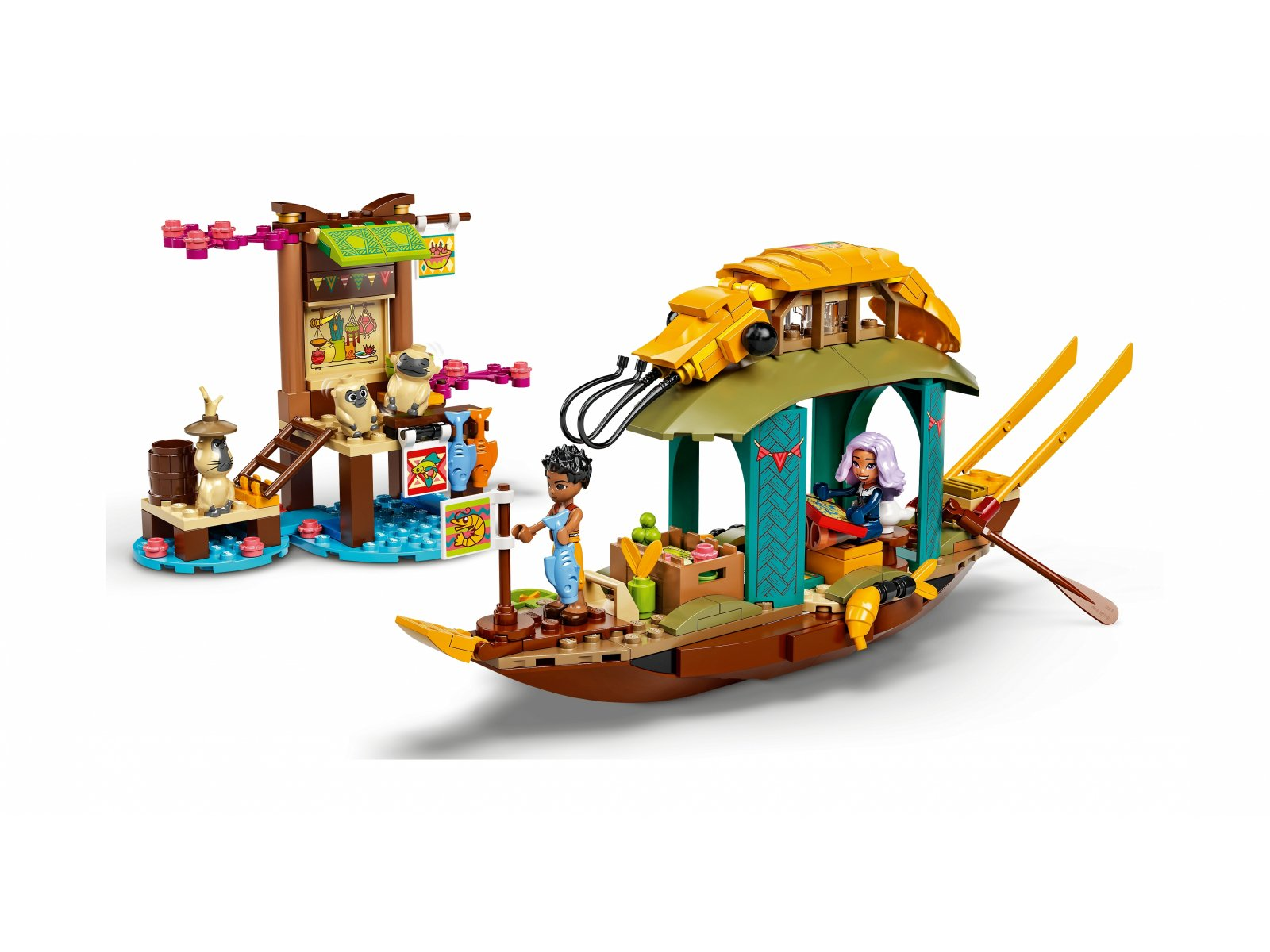 LEGO 43185 Łódź Bouna