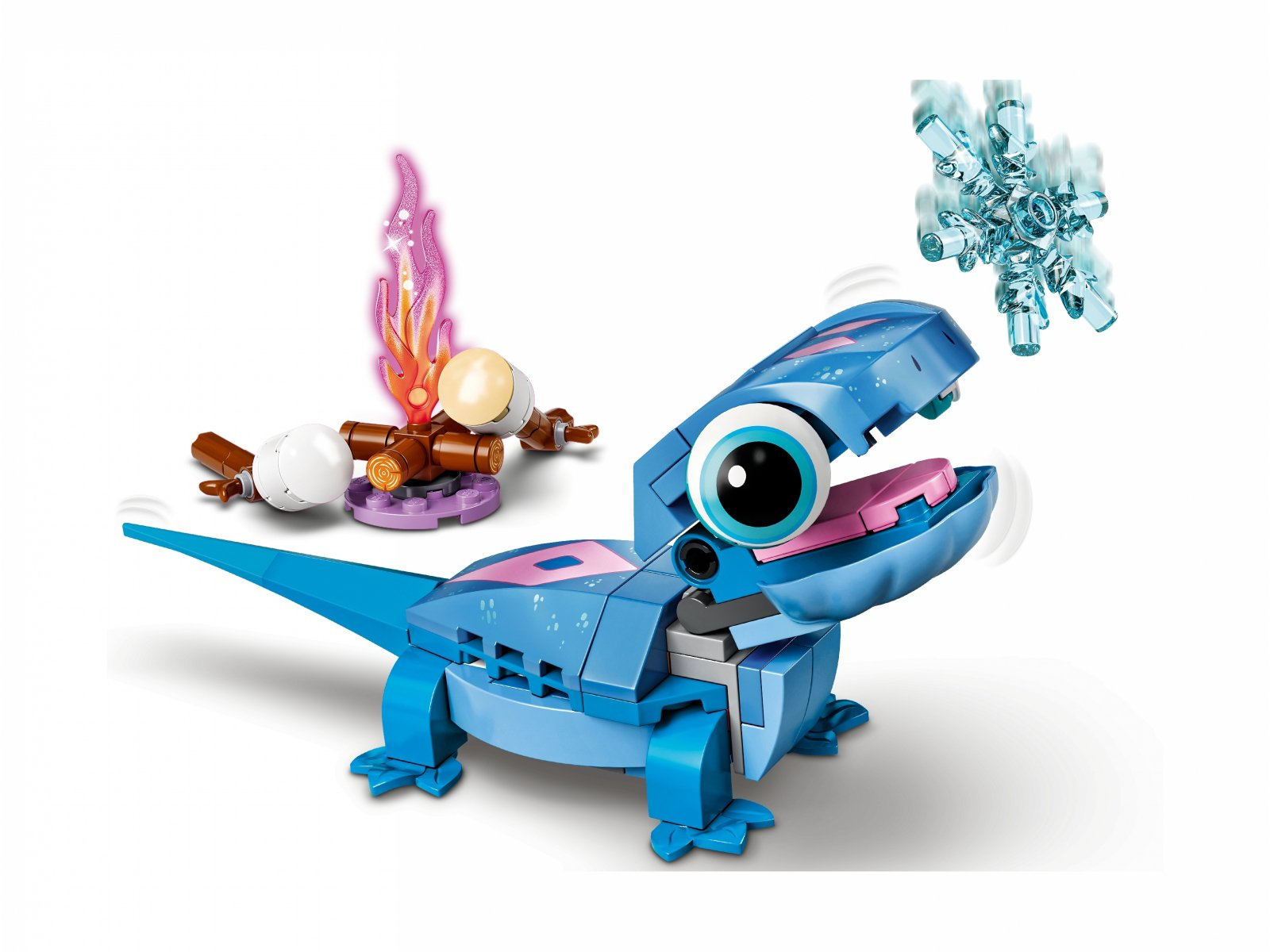 LEGO 43186 Disney Salamandra Bruni do zbudowania