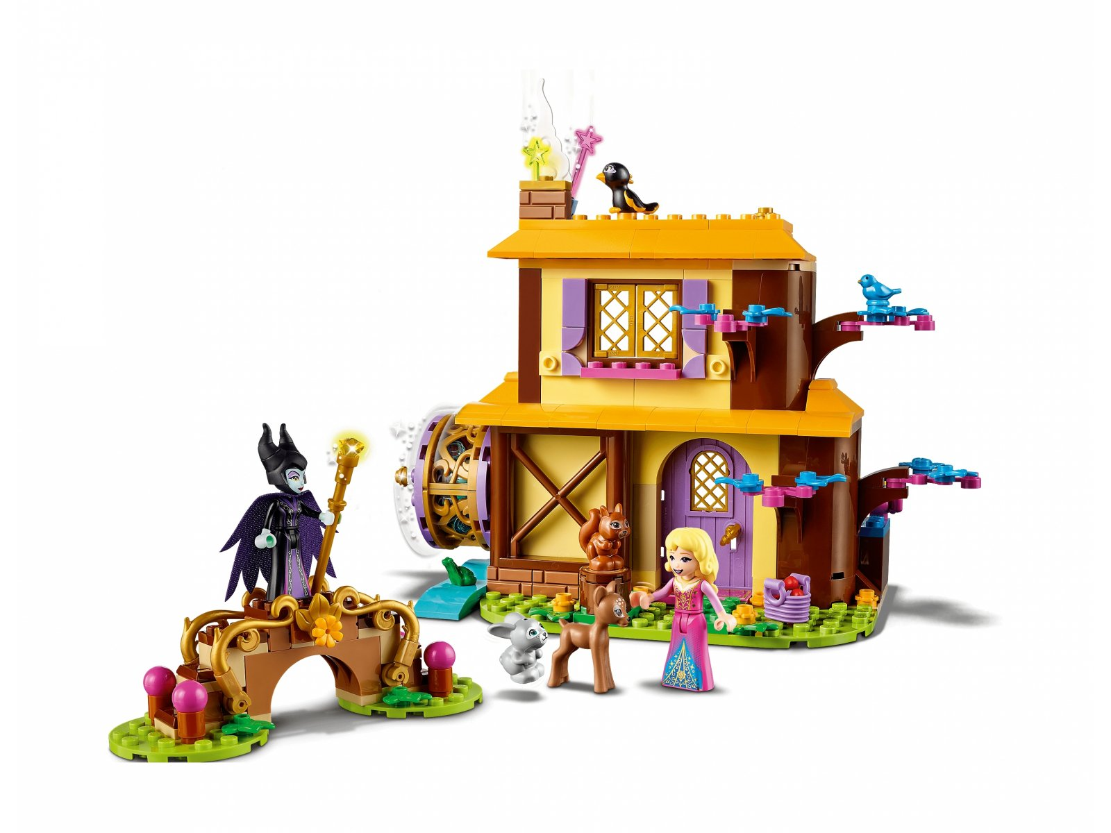 LEGO 43188 Disney™ Leśna chatka Aurory