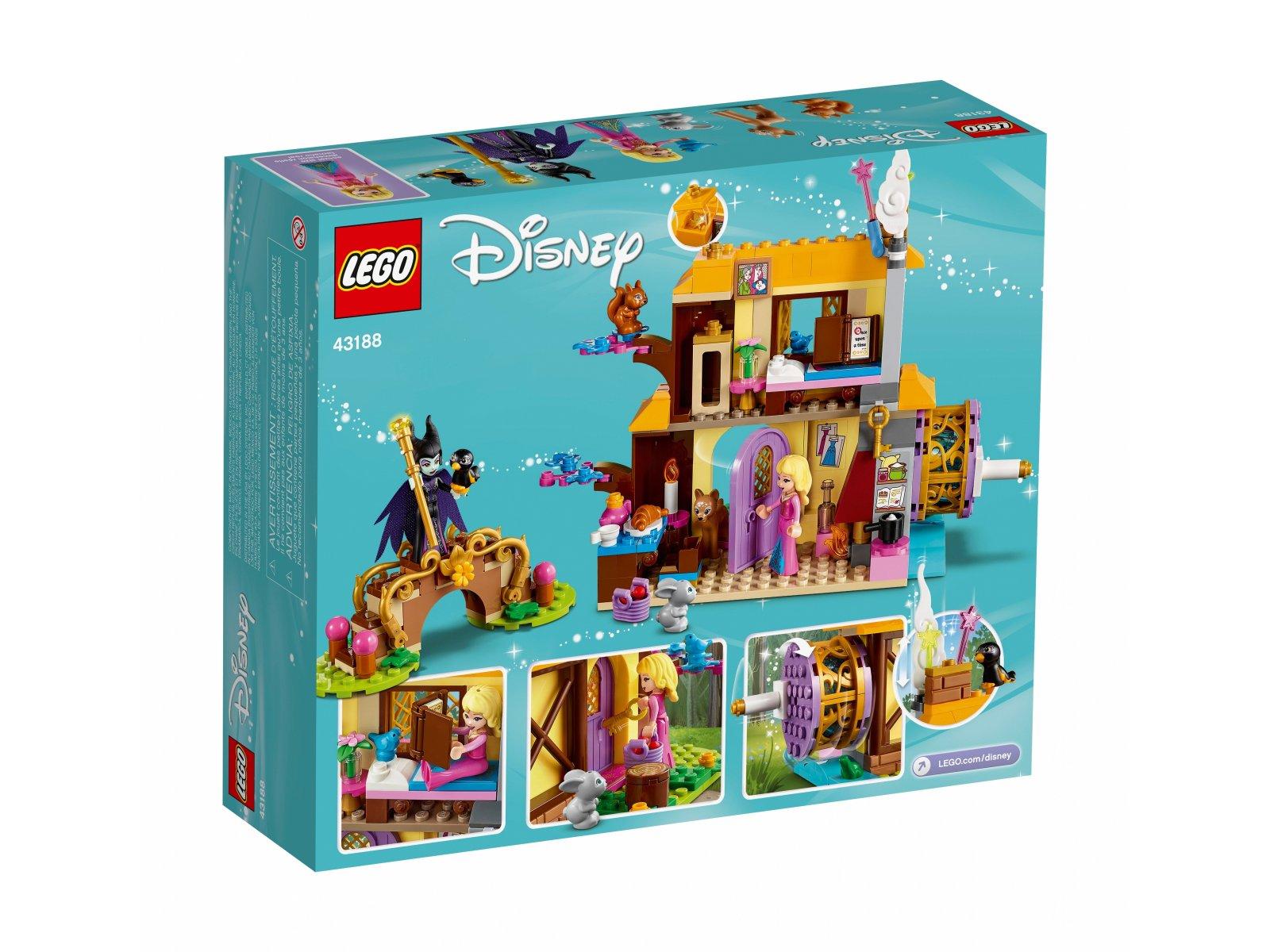 LEGO Disney™ Leśna chatka Aurory 43188