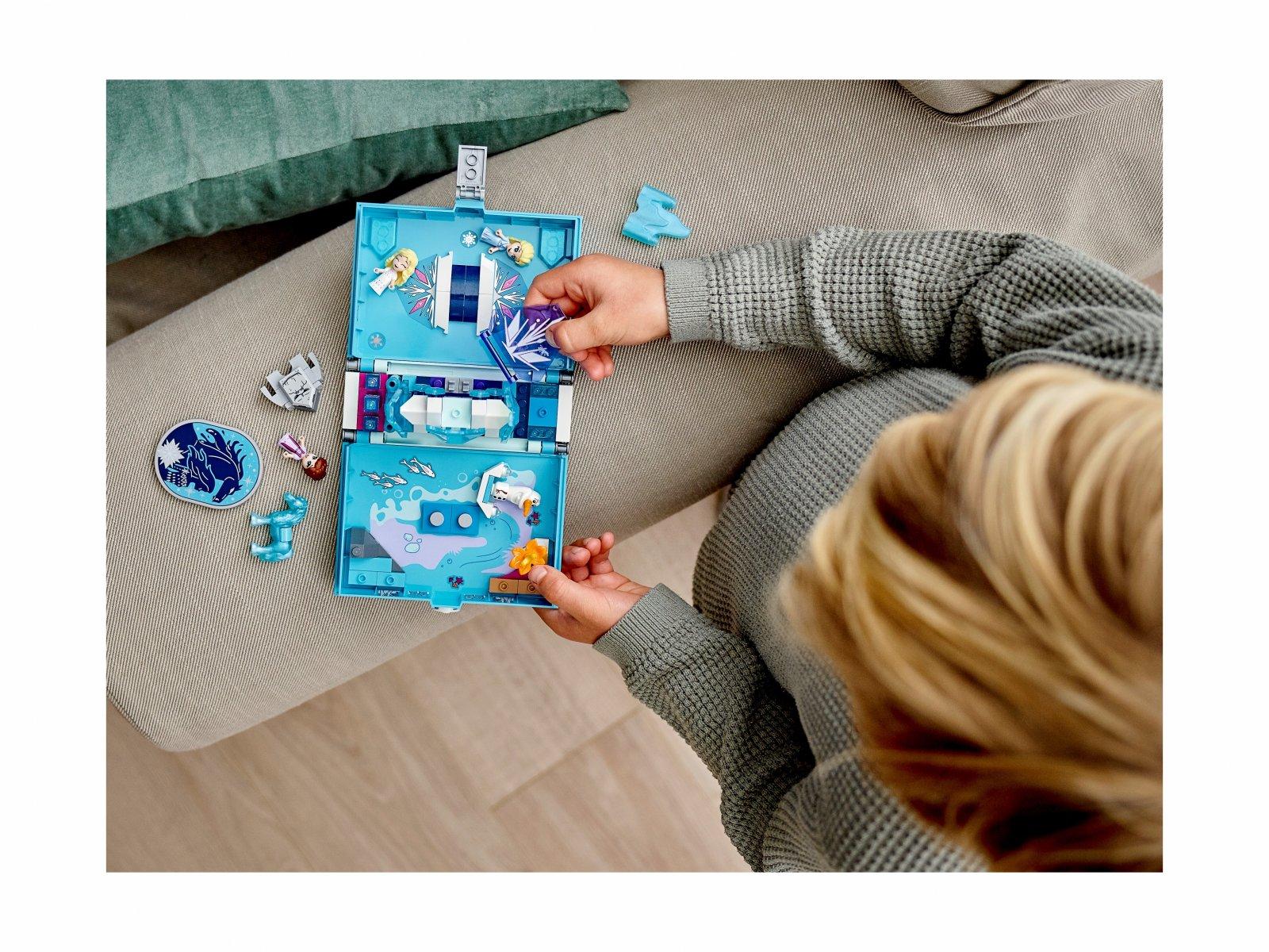 LEGO 43189 Disney™ Książka z przygodami Elsy i Nokka
