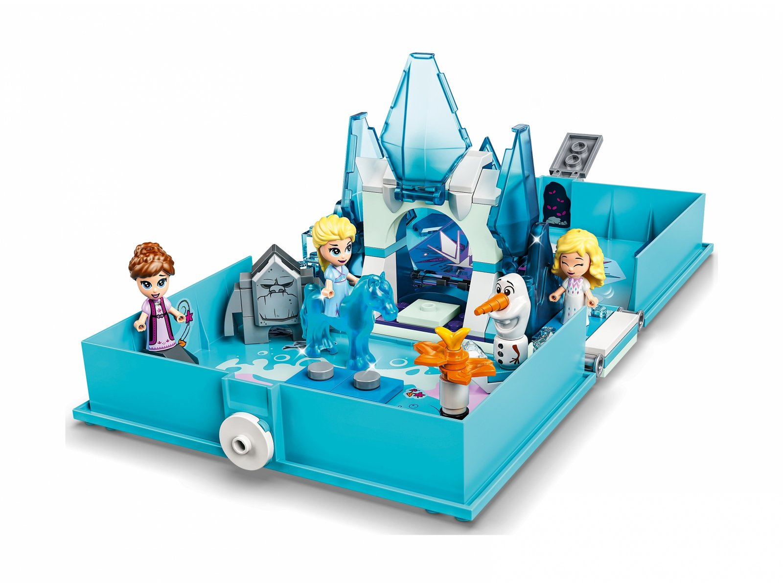 LEGO Disney™ Książka z przygodami Elsy i Nokka 43189