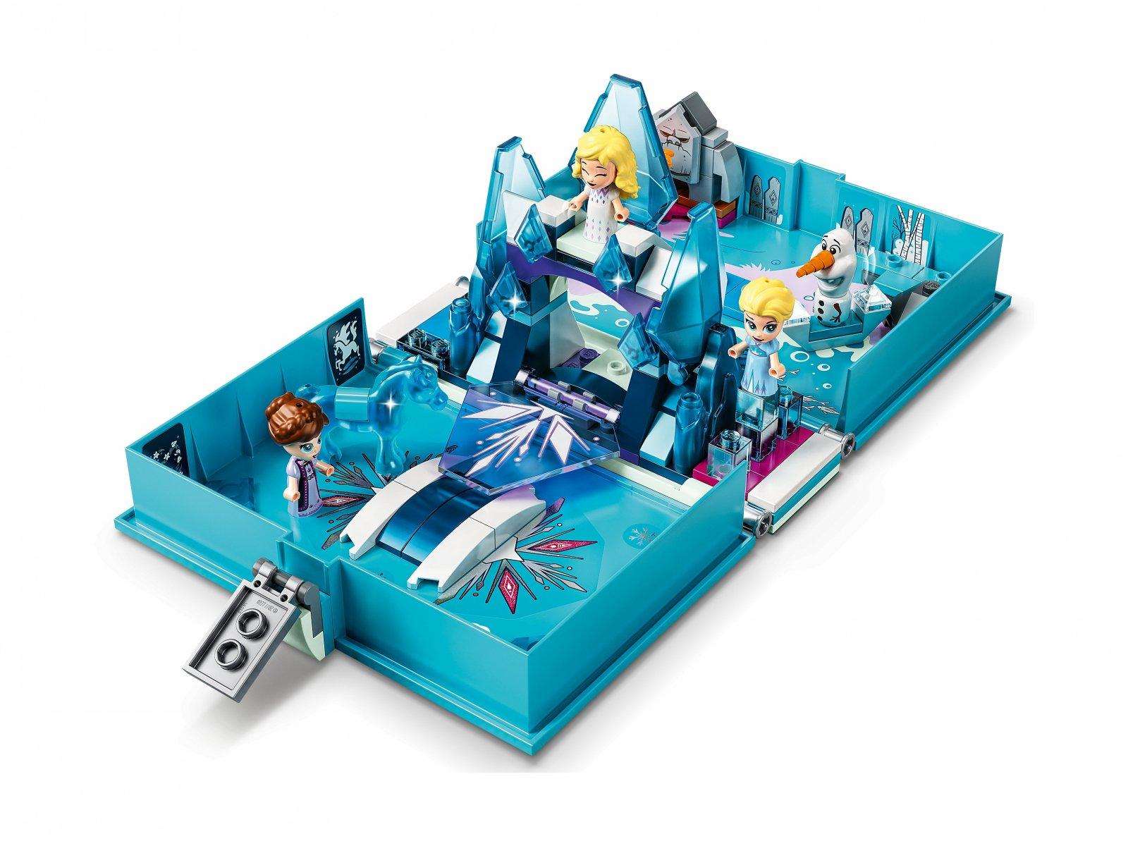LEGO Disney™ 43189 Książka z przygodami Elsy i Nokka