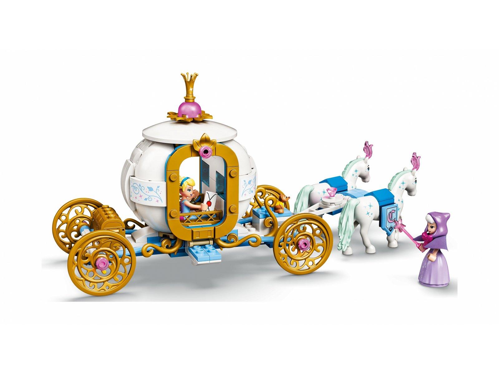 LEGO Disney Królewski powóz Kopciuszka 43192