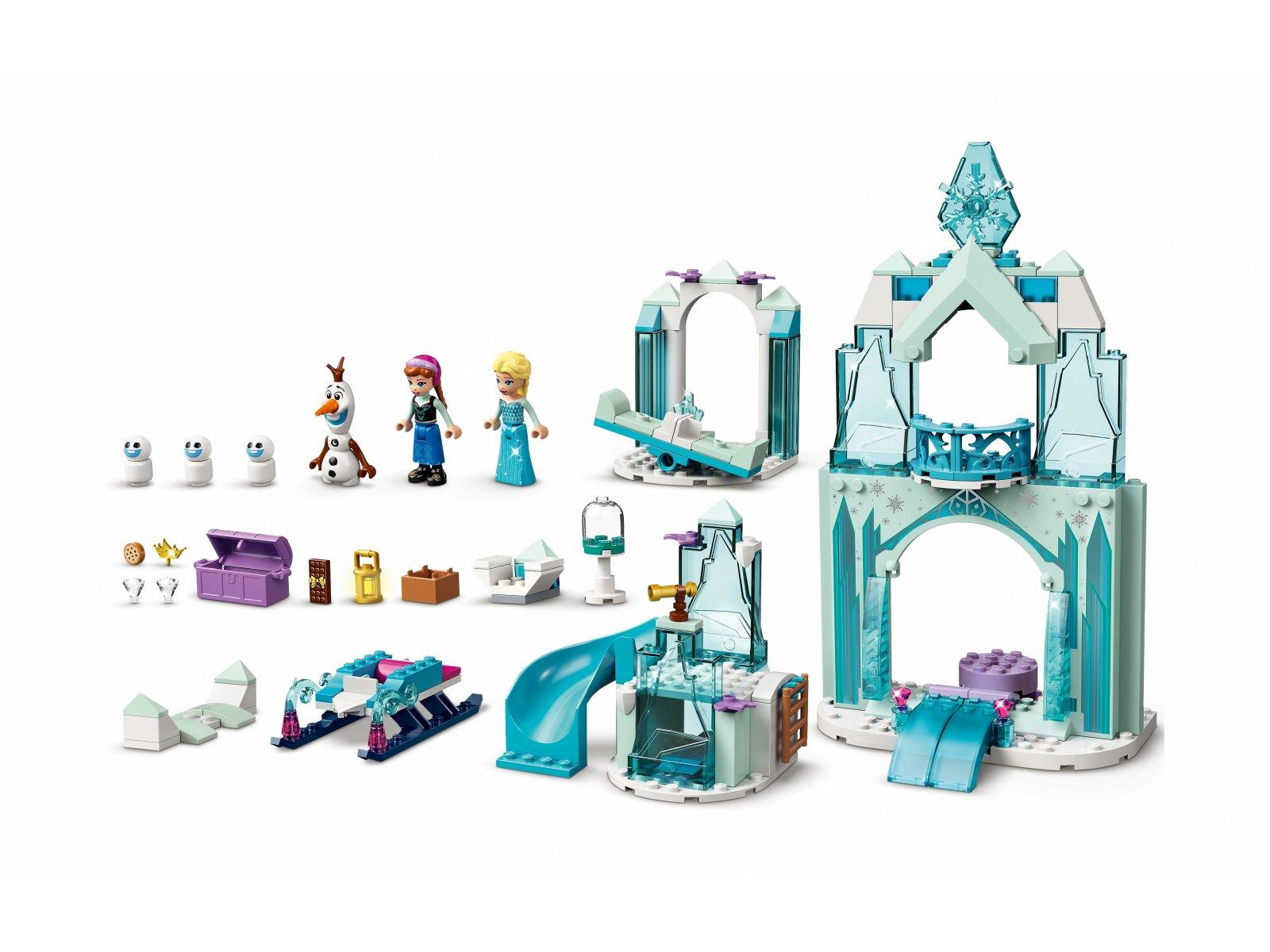 LEGO Disney 43194 Lodowa kraina czarów Anny i Elsy