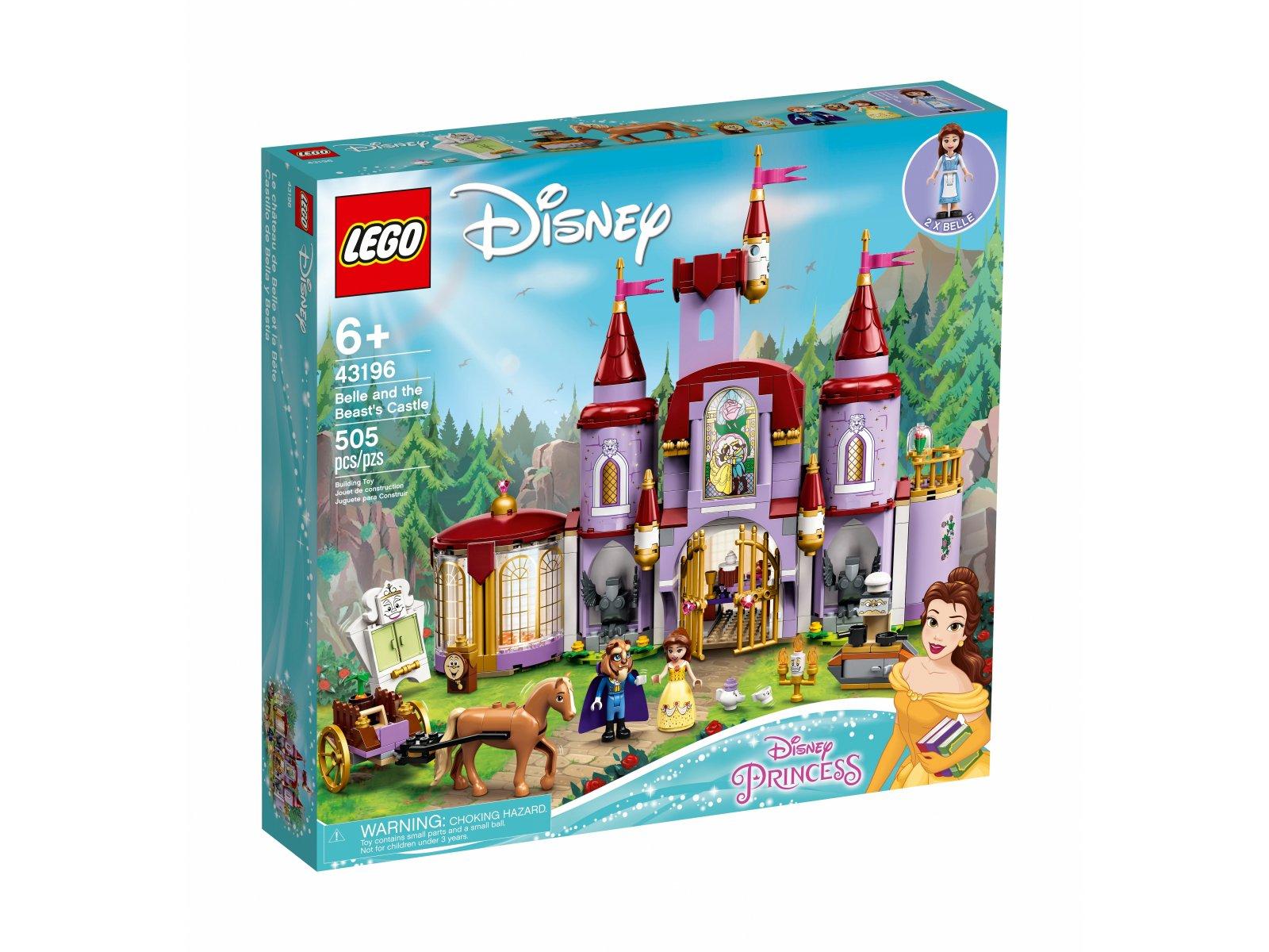 LEGO 43196 Zamek Belli i Bestii