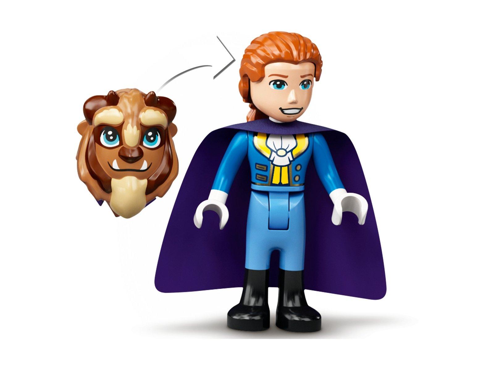 LEGO Disney 43196 Zamek Belli i Bestii