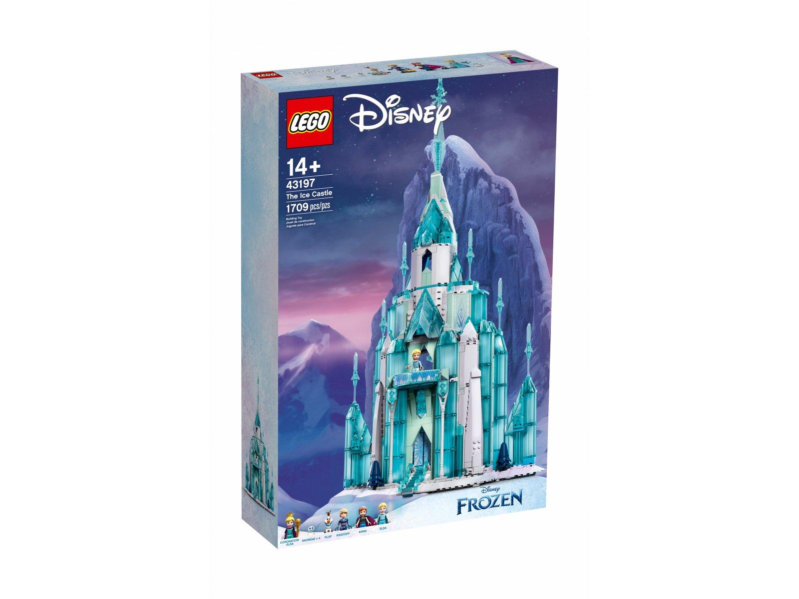 LEGO 43197 Disney Lodowy zamek
