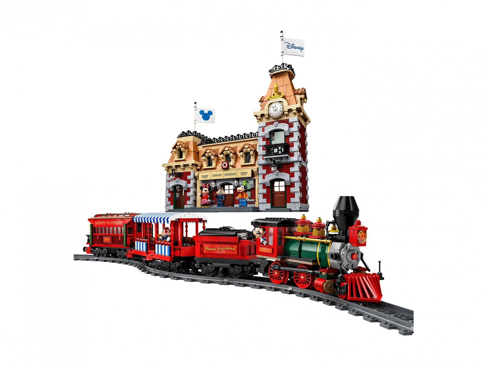 LEGO Disney™ 71044 Pociąg i dworzec Disney