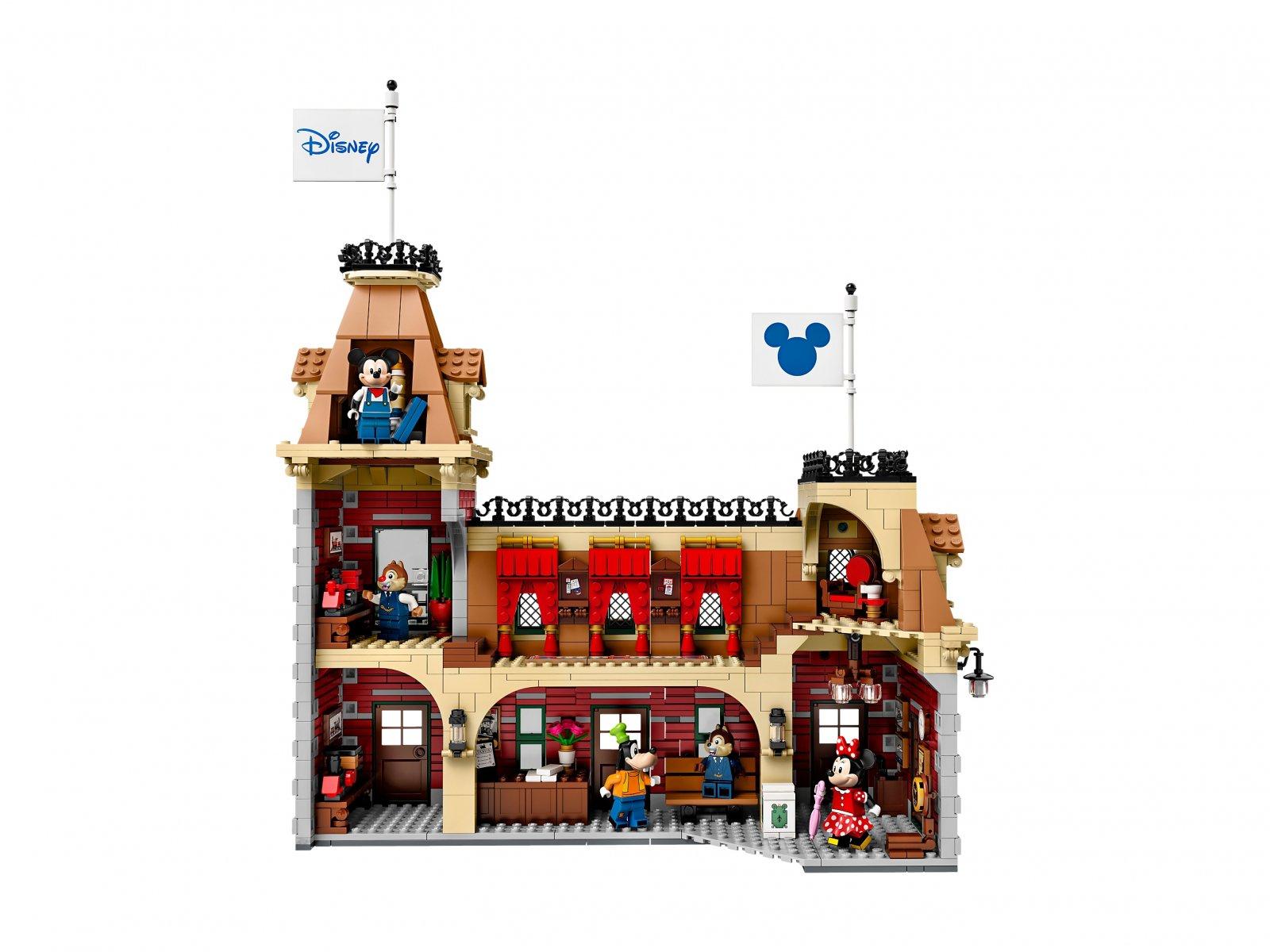 LEGO 71044 Pociąg i dworzec Disney
