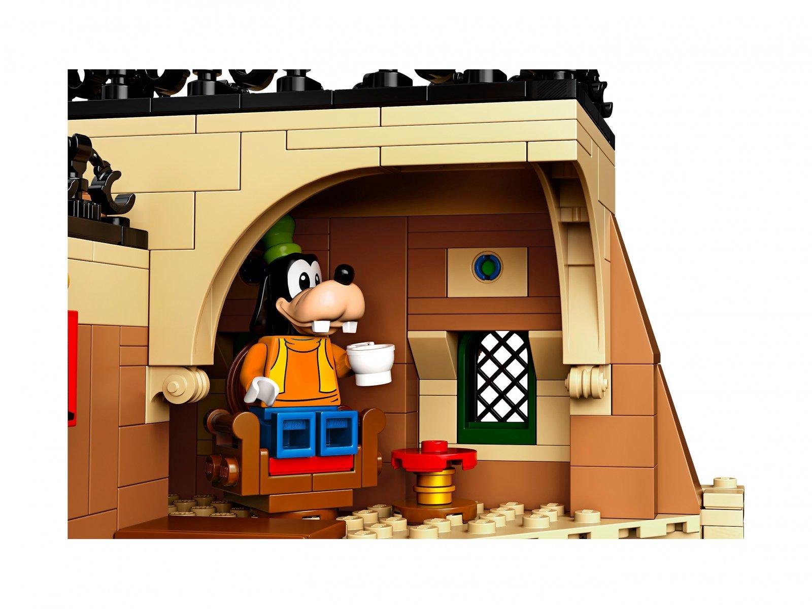 LEGO Disney™ Pociąg i dworzec Disney 71044