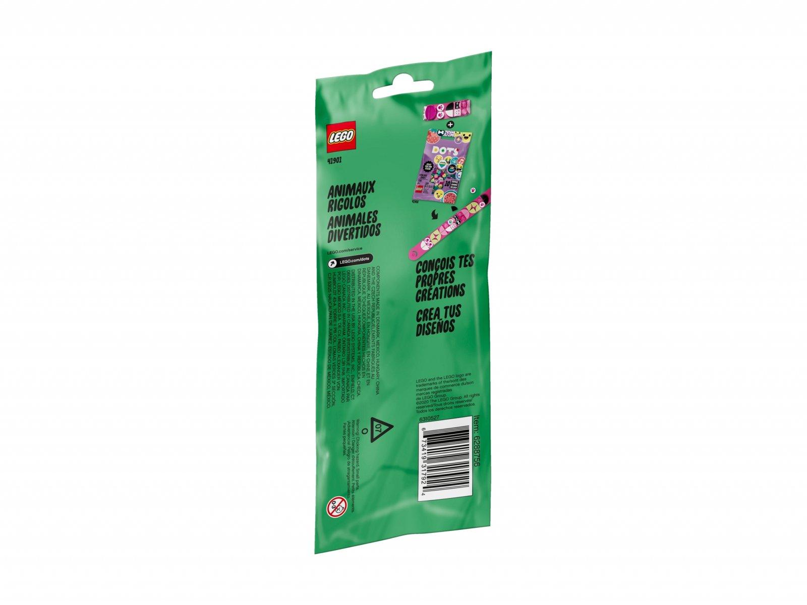 LEGO DOTS™ 41901 Bransoletka ze stylowymi zwierzakami