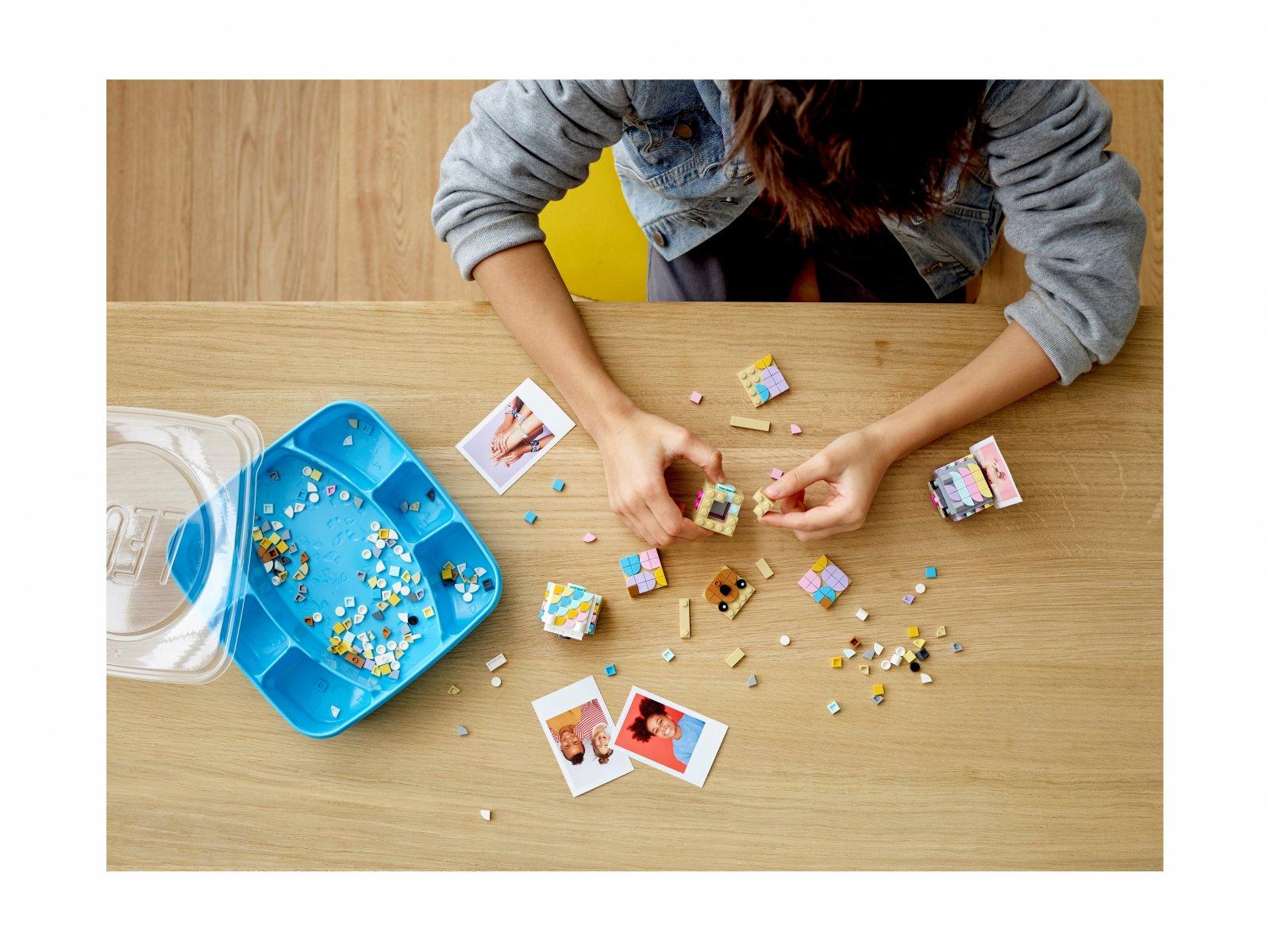 LEGO 41904 DOTS™ Stojaki na zdjęcia z motywem zwierzęcym