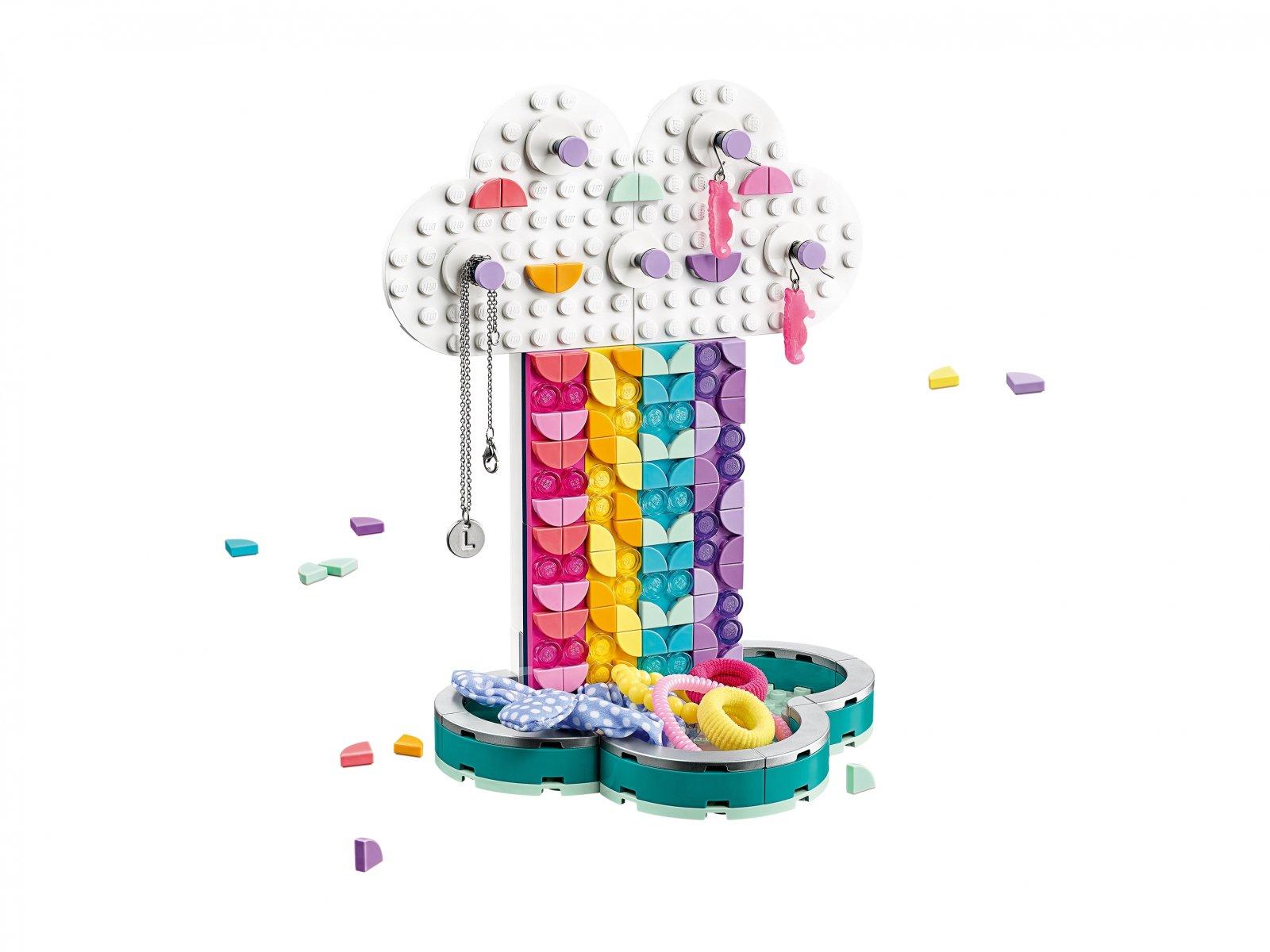 LEGO DOTS™ Tęczowy stojak na biżuterię 41905