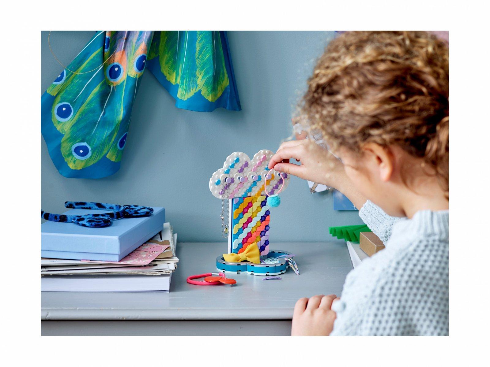 LEGO 41905 Tęczowy stojak na biżuterię