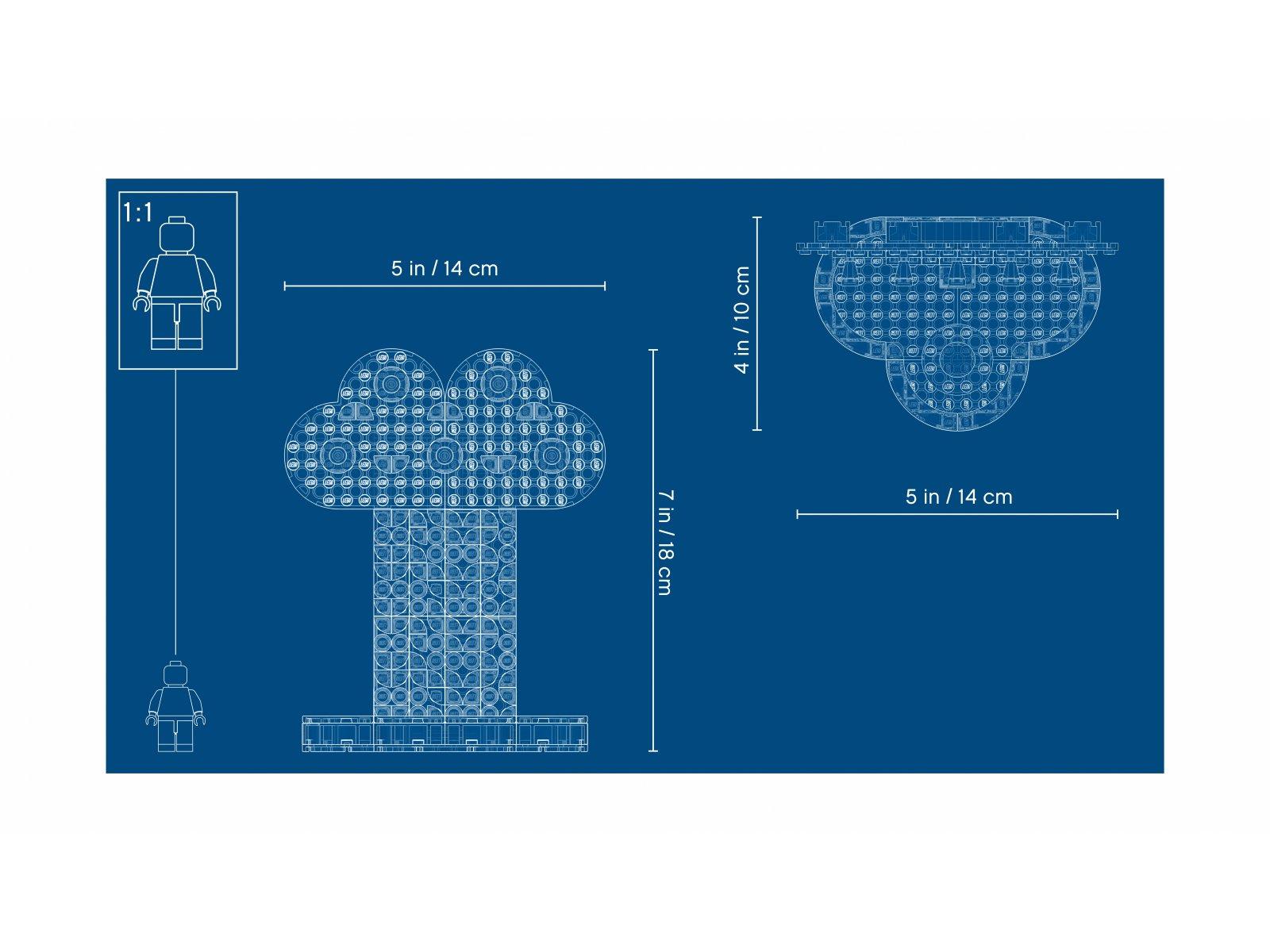 LEGO 41905 DOTS™ Tęczowy stojak na biżuterię