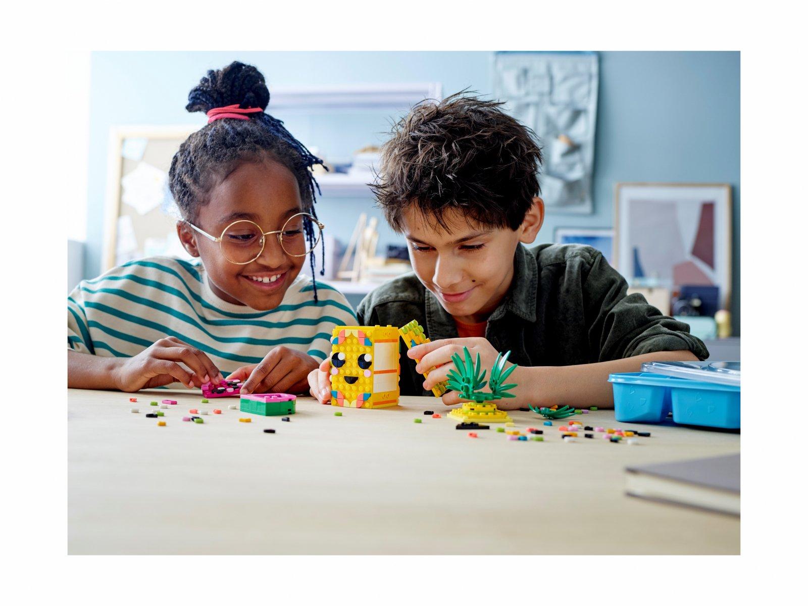 LEGO 41906 Pojemnik na długopisy w kształcie ananasa