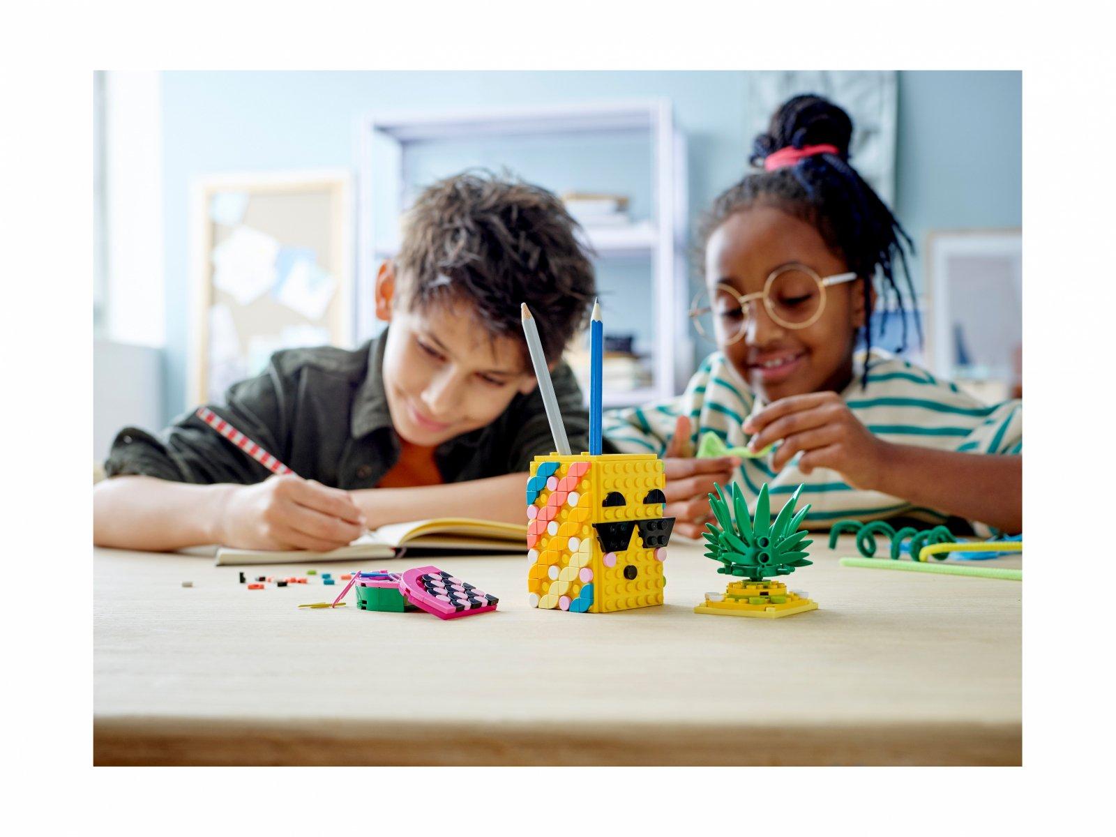 LEGO DOTS™ Pojemnik na długopisy w kształcie ananasa 41906
