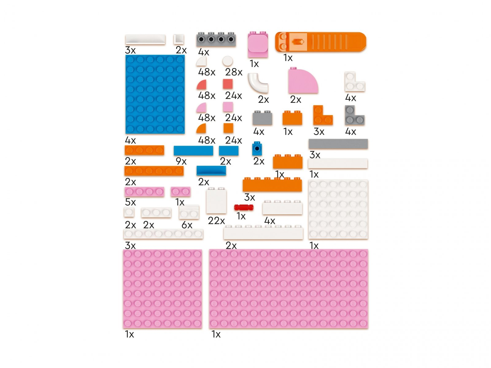 LEGO 41907 DOTS™ Organizer na biurko
