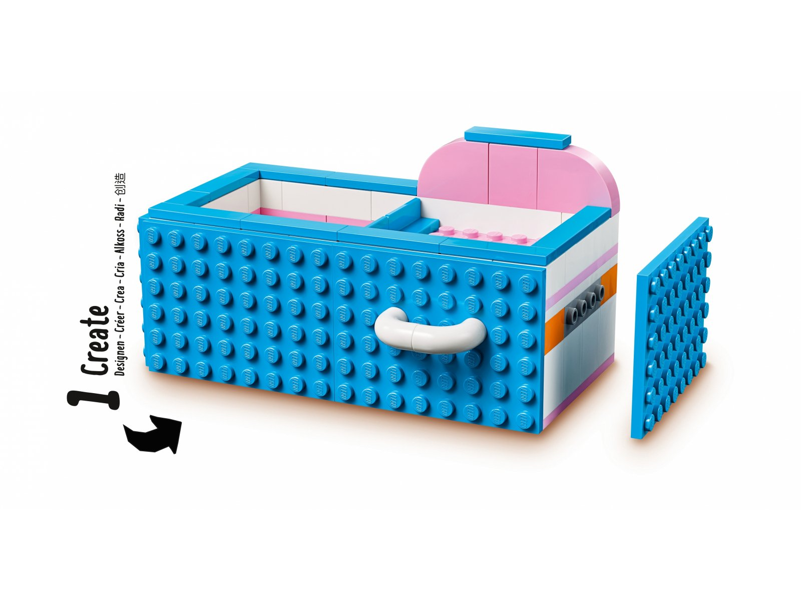 LEGO DOTS™ Organizer na biurko 41907