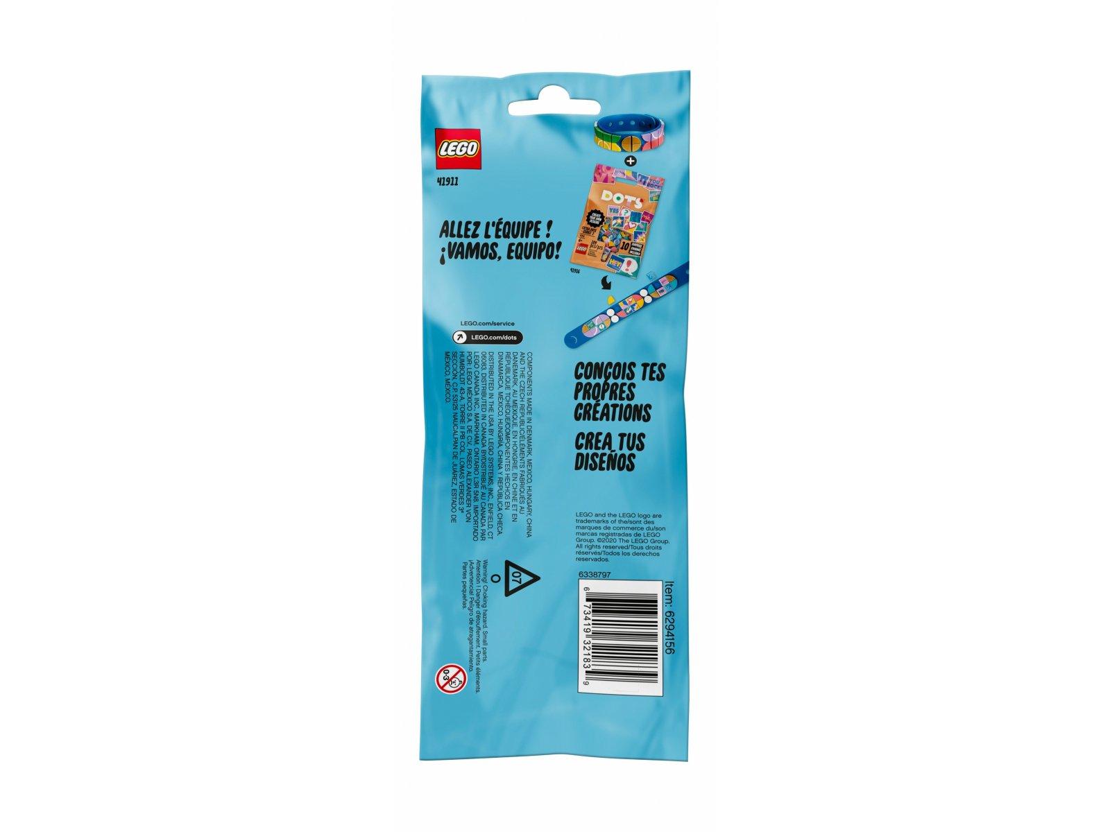 LEGO 41911 DOTS™ Bransoletka sportowa