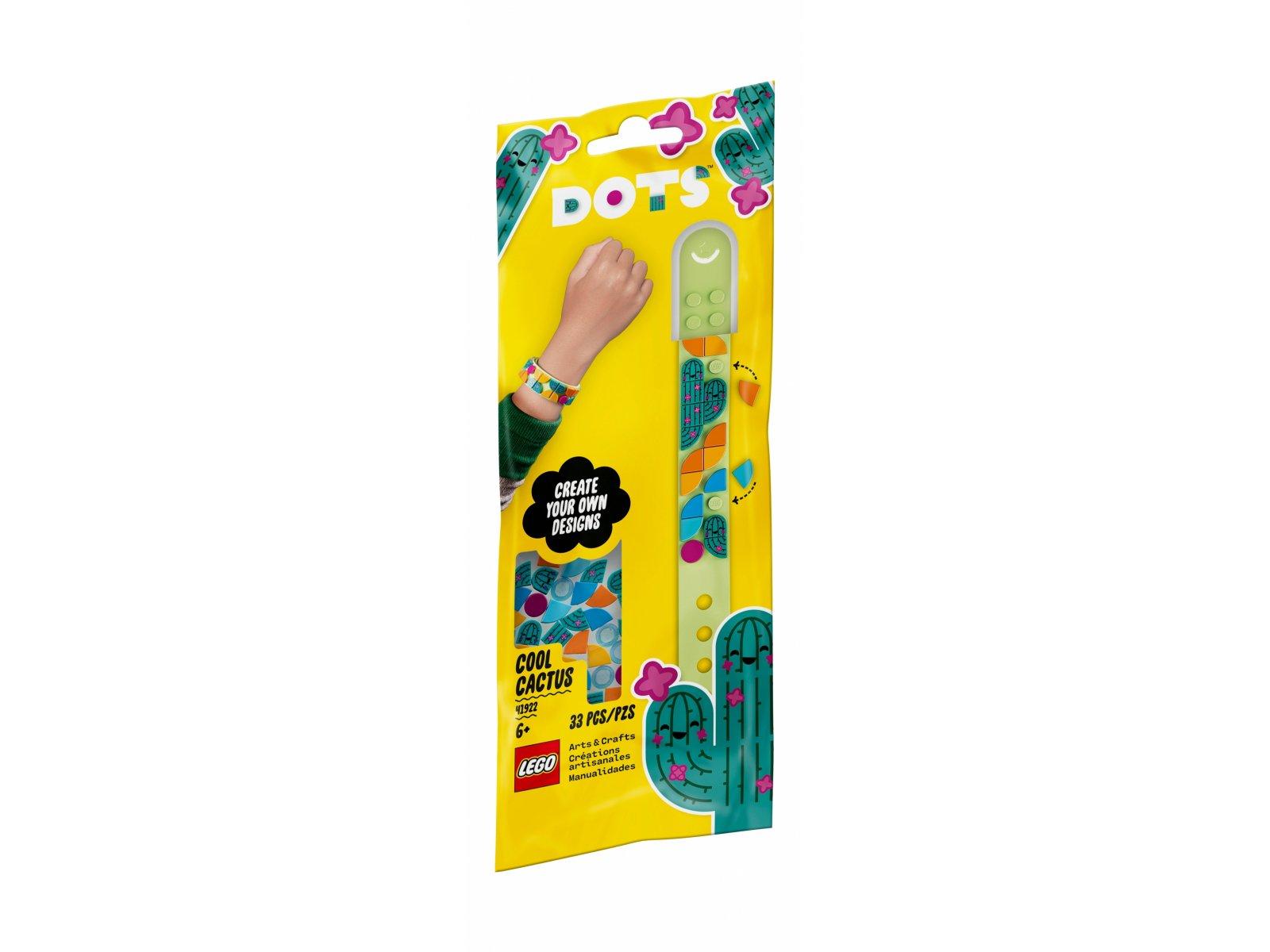 LEGO 41922 DOTS Bransoletka z kaktusem