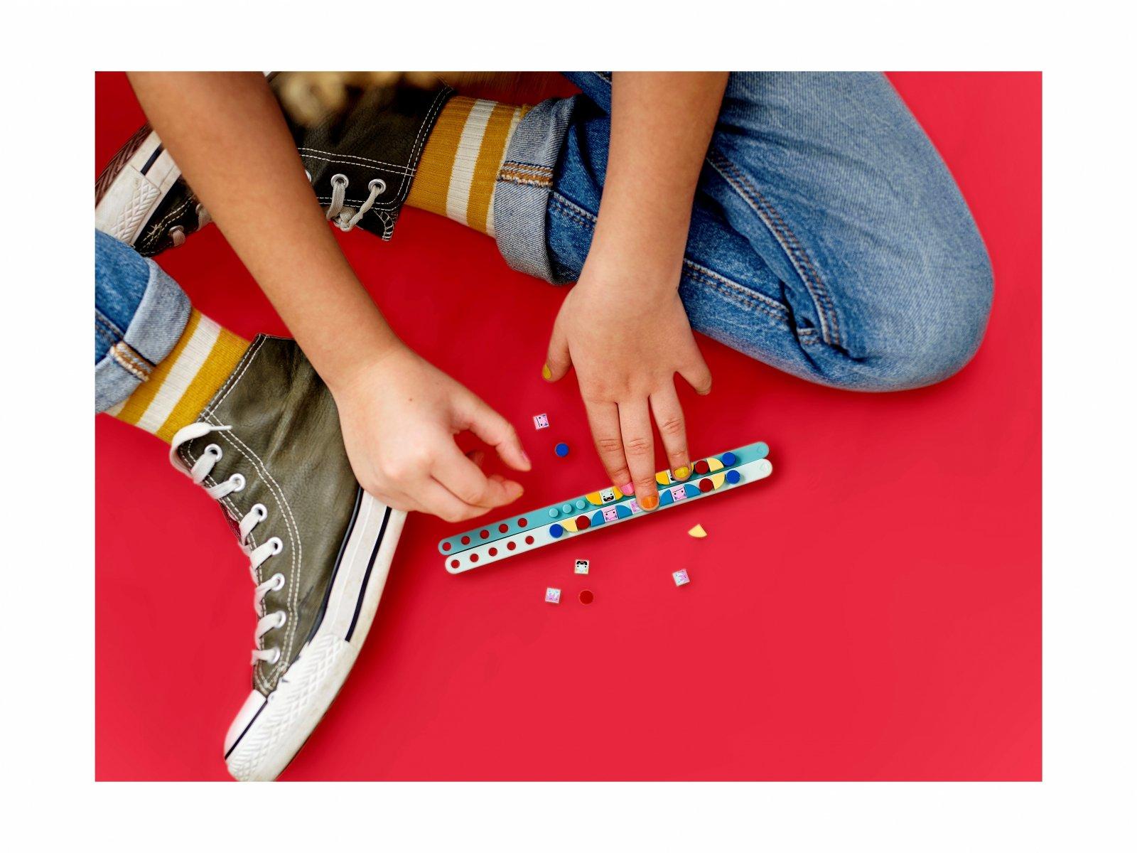 LEGO 41923 DOTS™ Bransoletki z potworkami