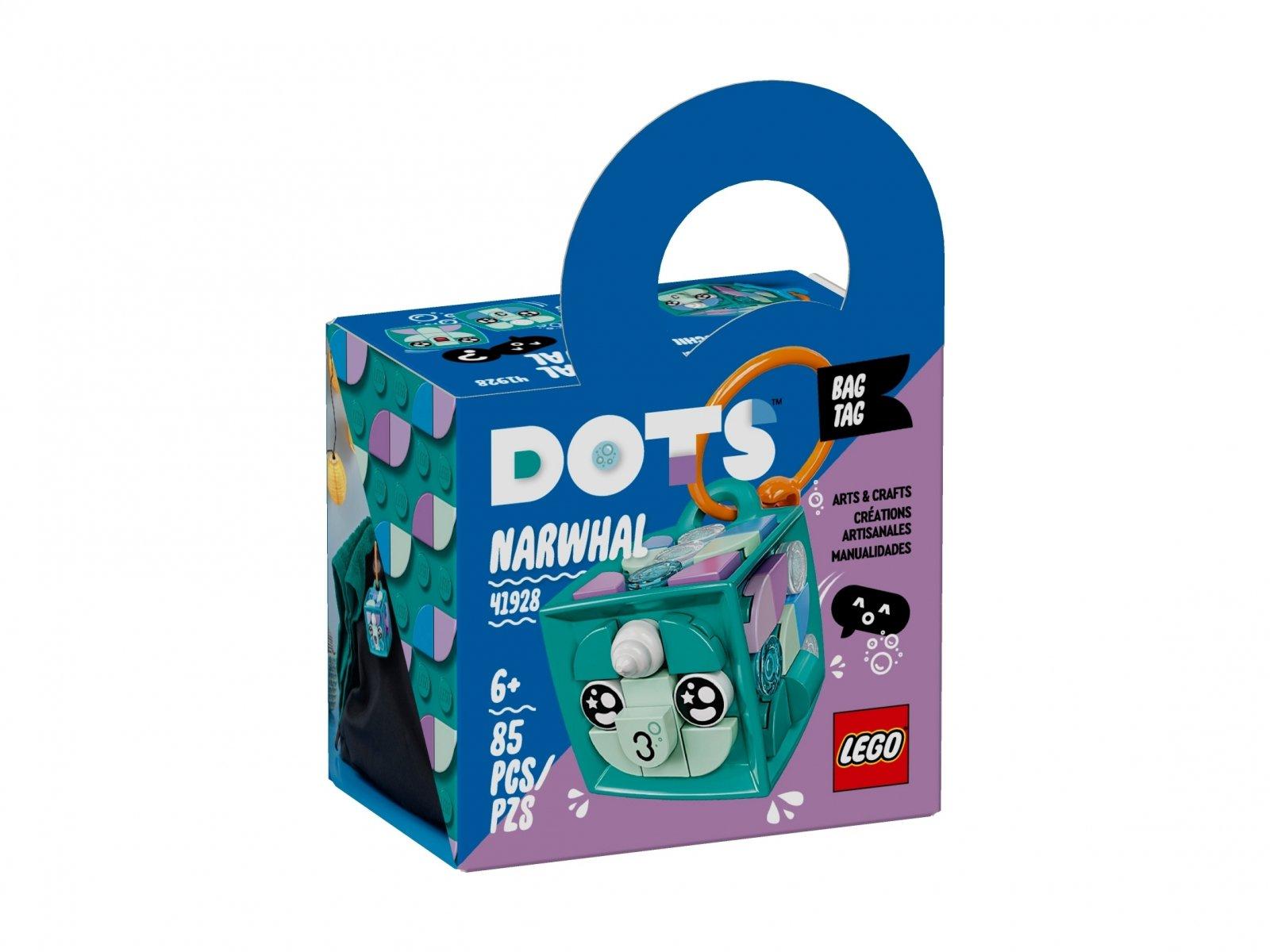 LEGO 41928 Zawieszka z narwalem