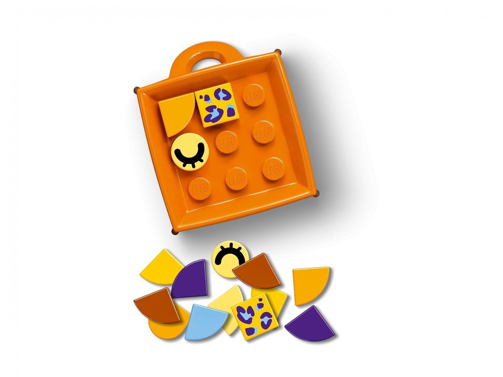 LEGO 41929 DOTS Zawieszka z leopardem
