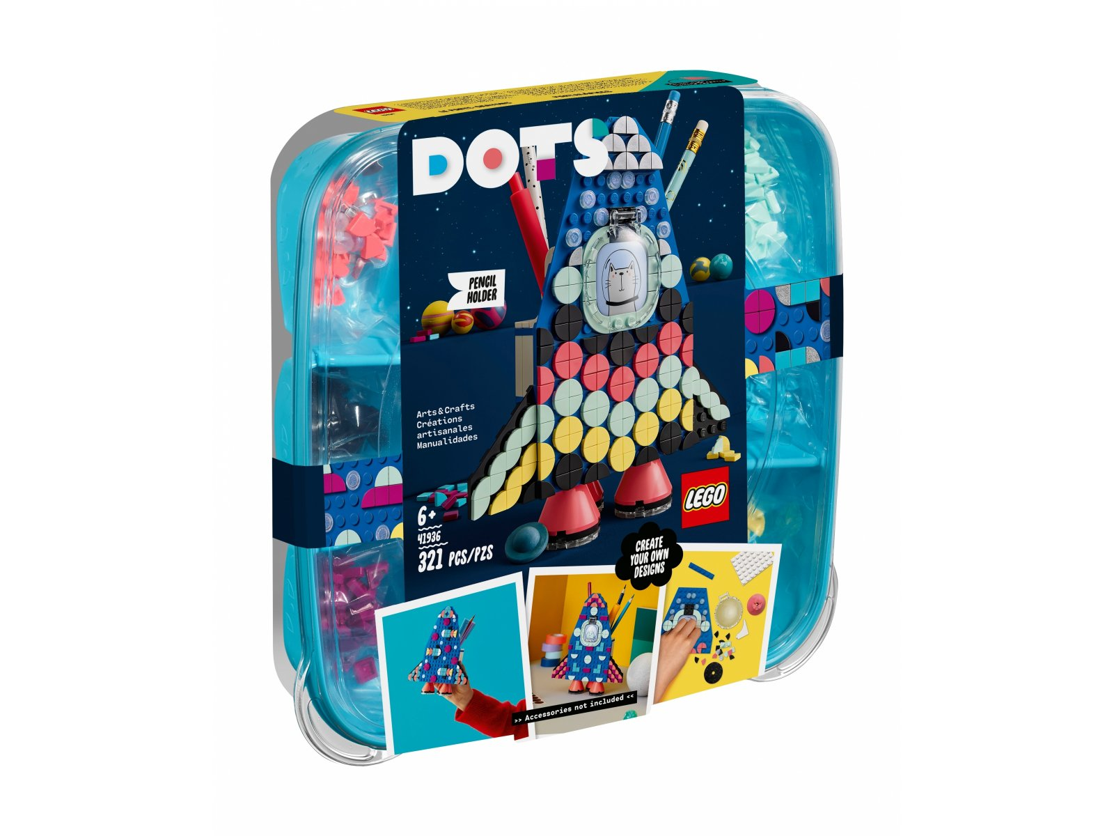 LEGO 41936 DOTS Pojemnik na długopisy