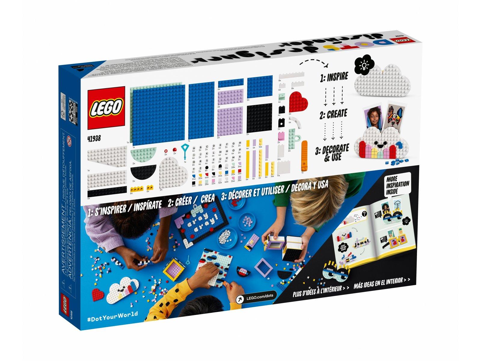 LEGO DOTS Zestaw kreatywnego projektanta 41938