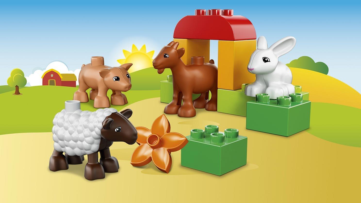 Lego 10522 Duplo Zwierzęta Na Farmie Zklockówpl