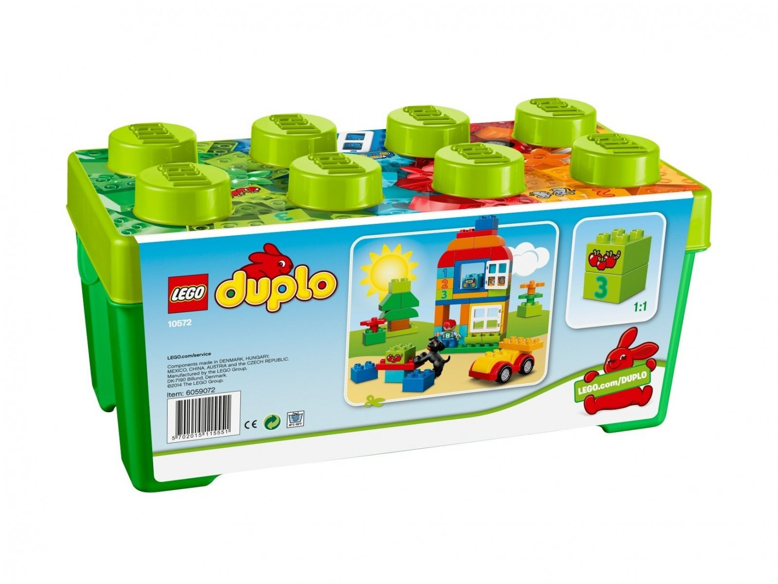 LEGO 10572 Duplo® Uniwersalny zestaw klocków