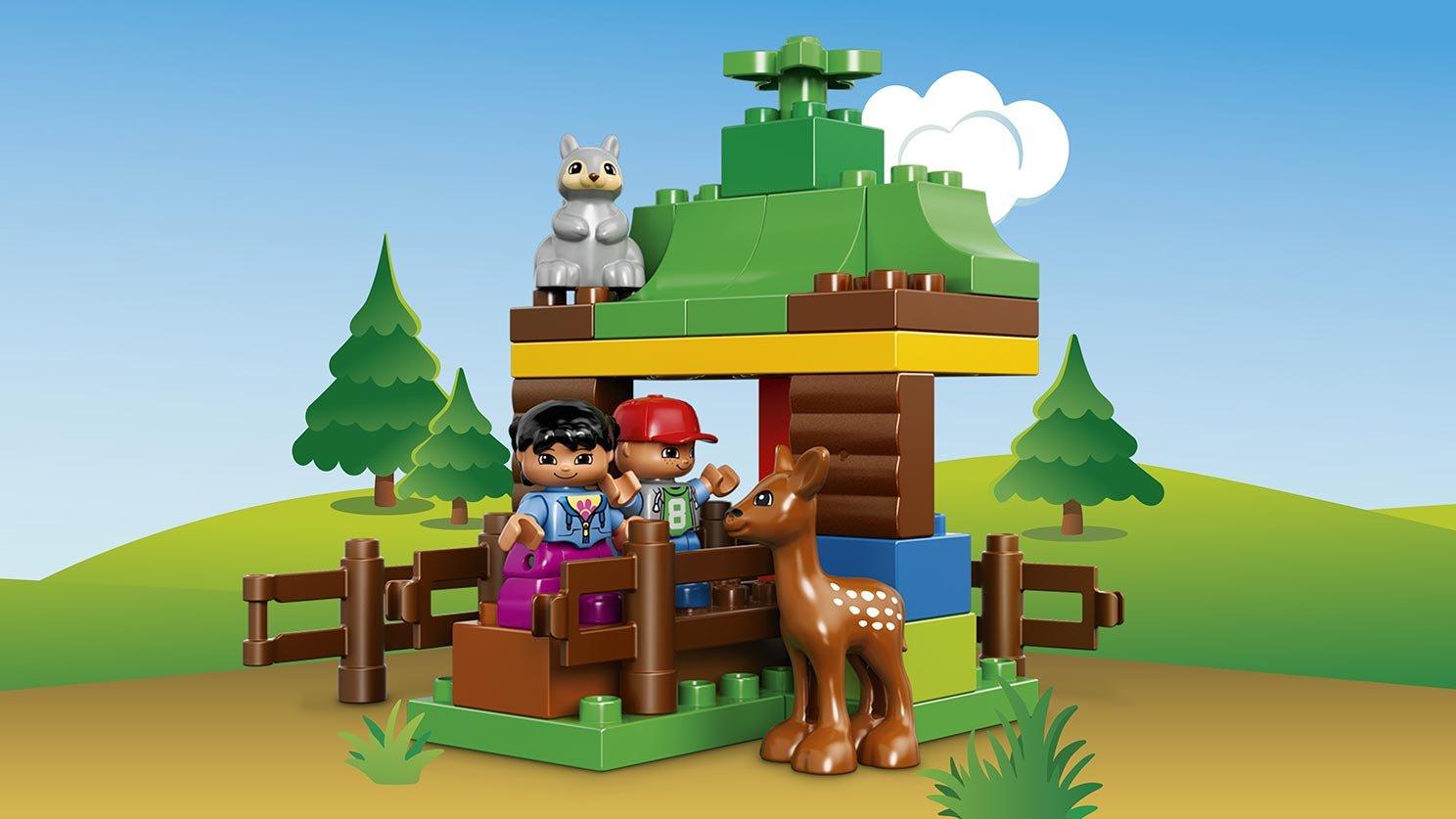 Lego 10582 Duplo Leśne Zwierzęta Zklockówpl