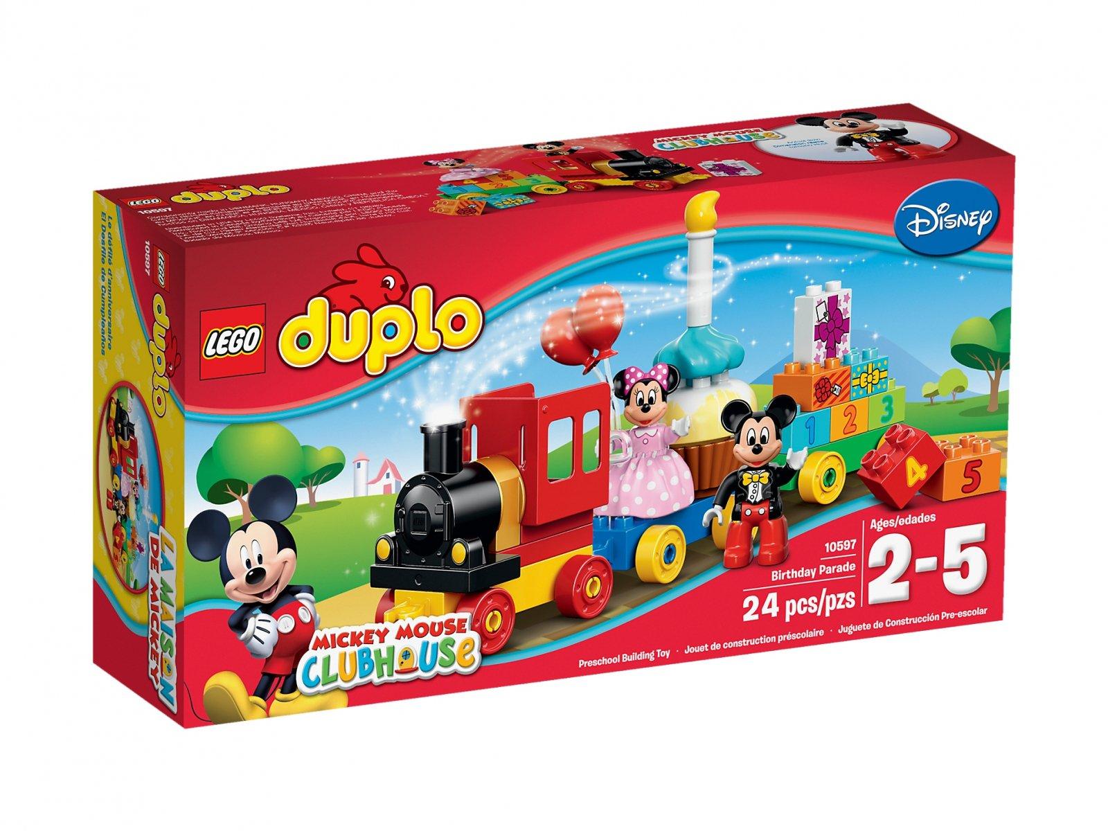 LEGO Duplo® Parada urodzinowa myszki Miki i Minnie 10597