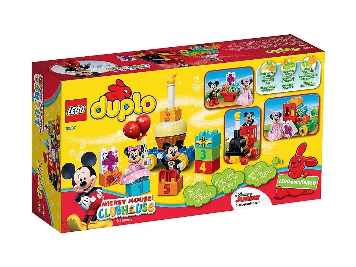 LEGO 10597 Duplo® Parada urodzinowa myszki Miki i Minnie