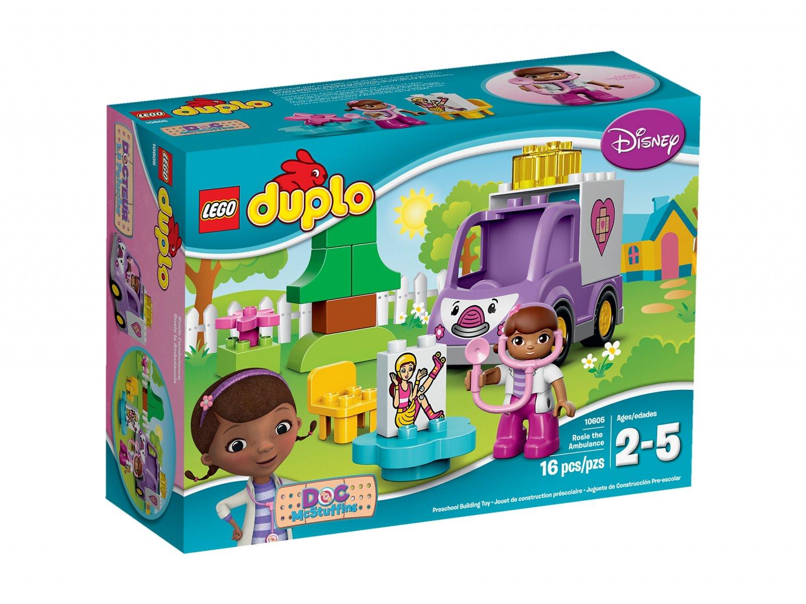 Lego 10605 Duplo Klinika Dla Pluszaków Karetka Doktor Dosi