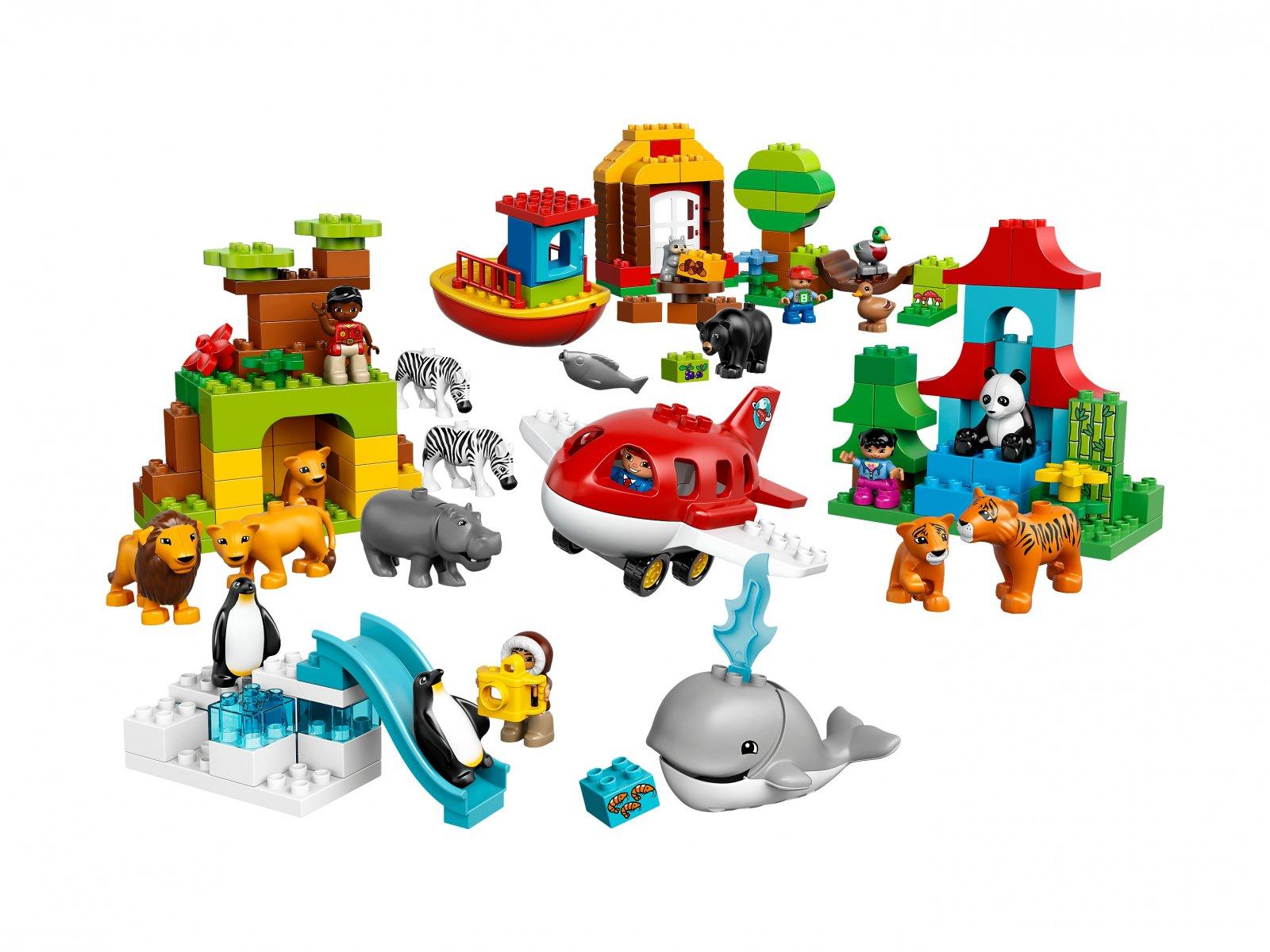 LEGO 10805 Duplo® Dookoła świata