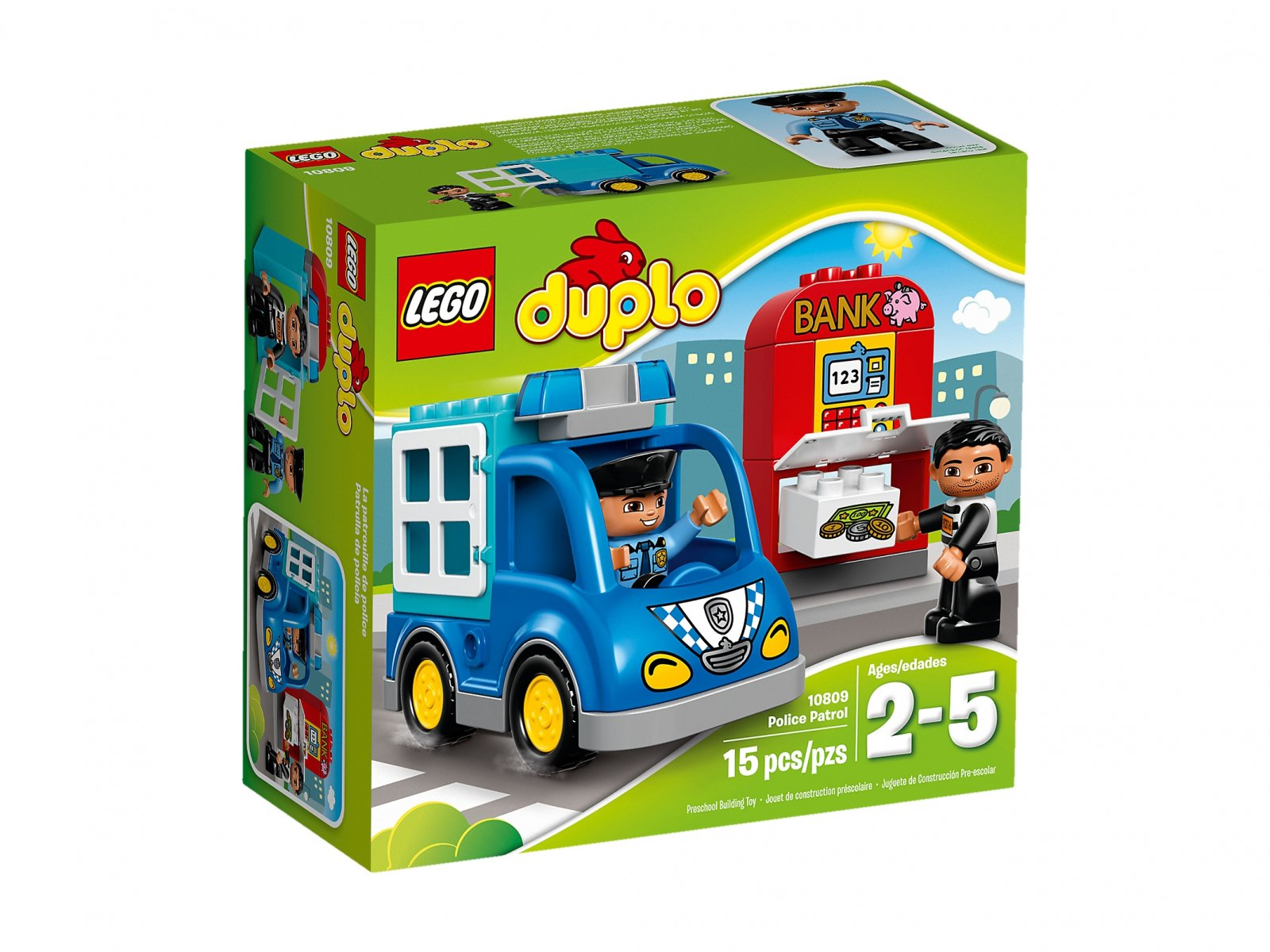 LEGO 10809 Patrol policyjny